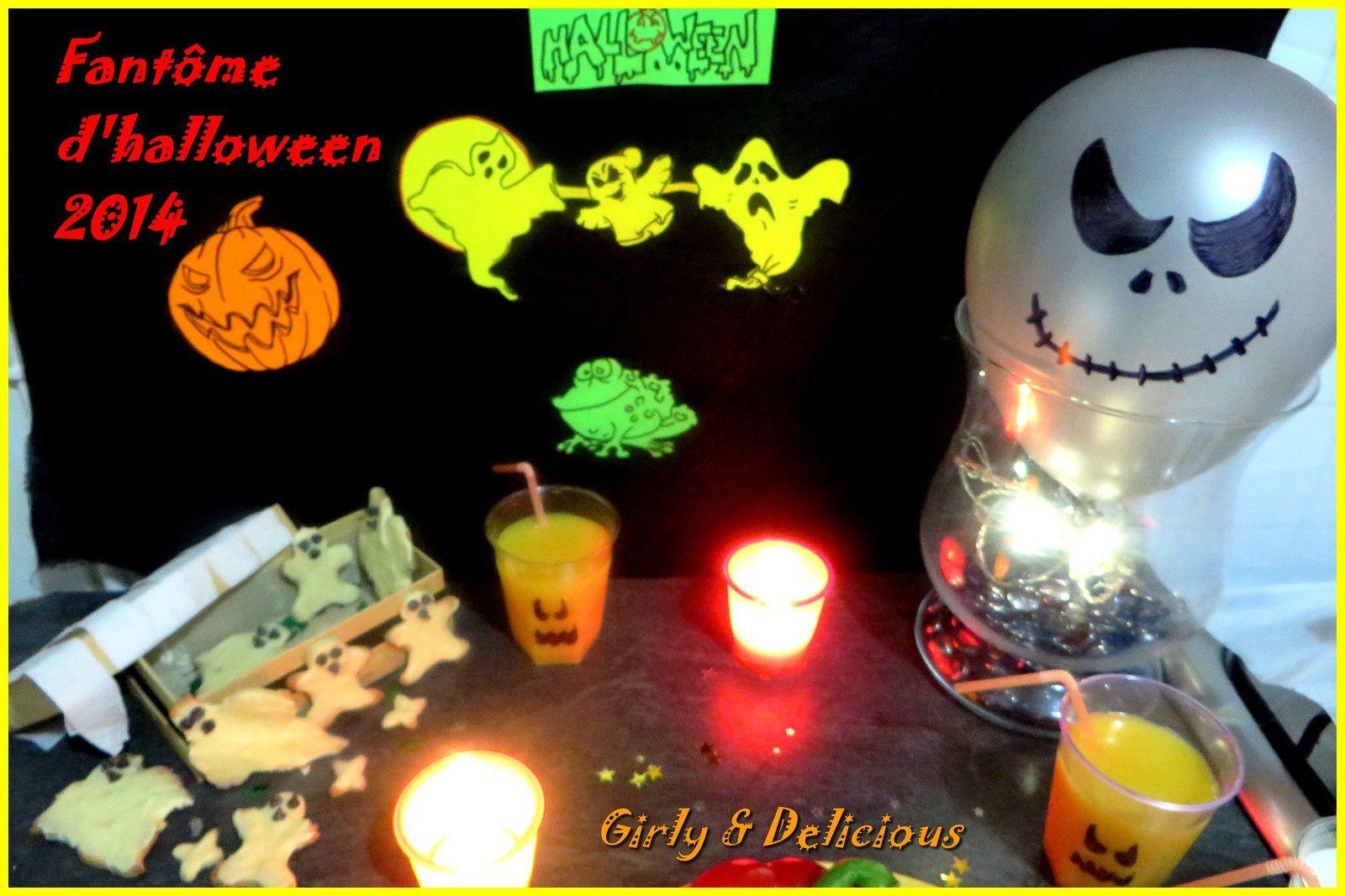 Mes fantômes d'halloween
