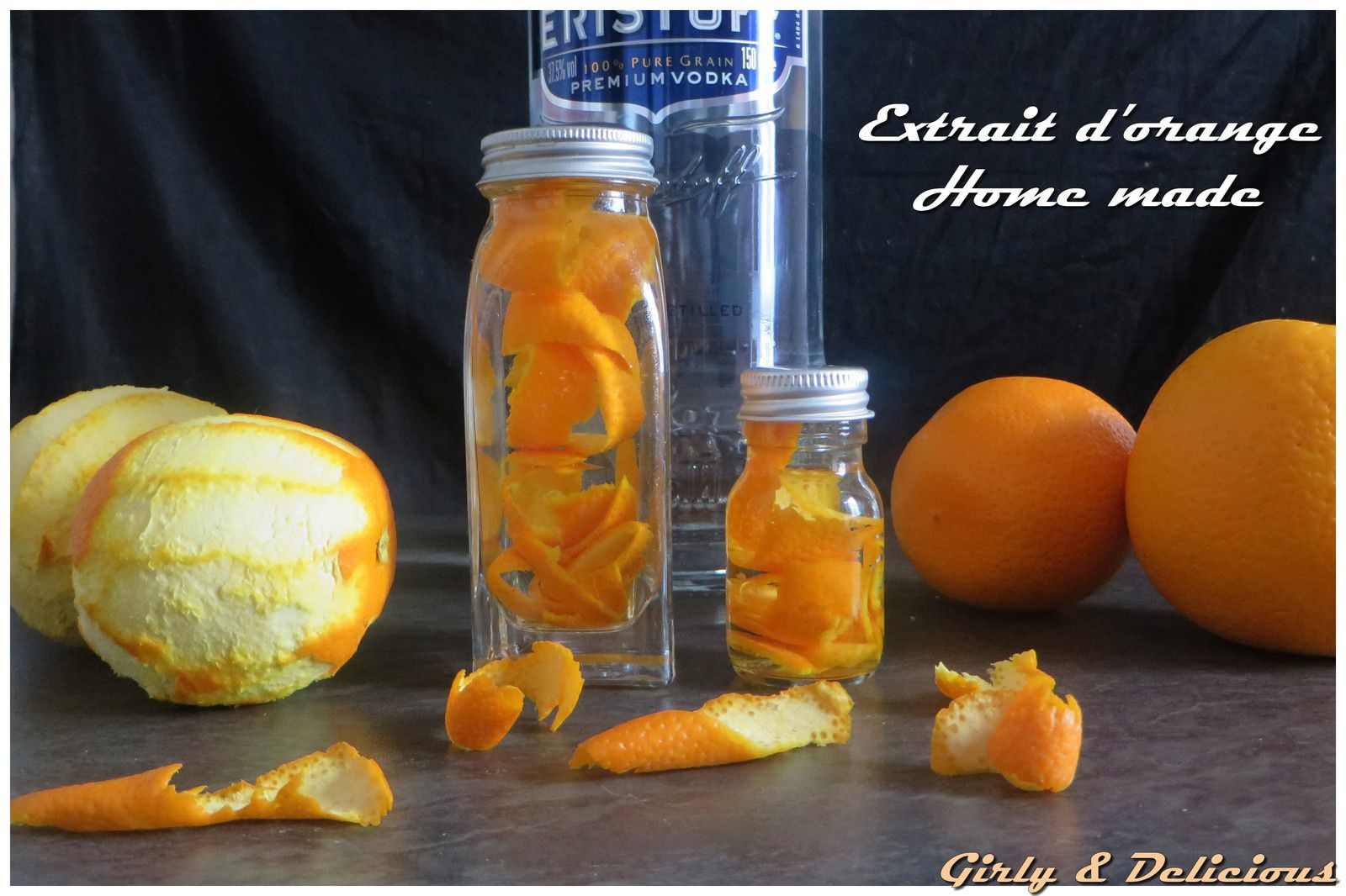 Extrait d'orange home made