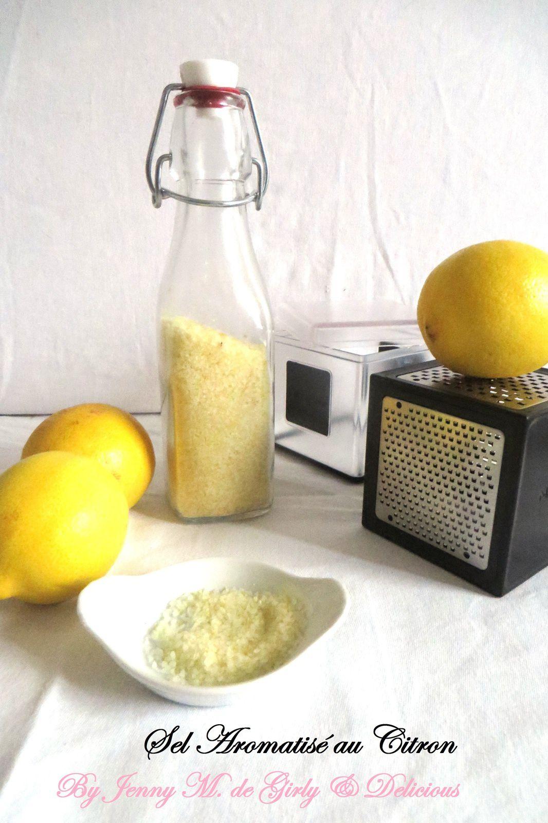 Sel aromatisé au citron