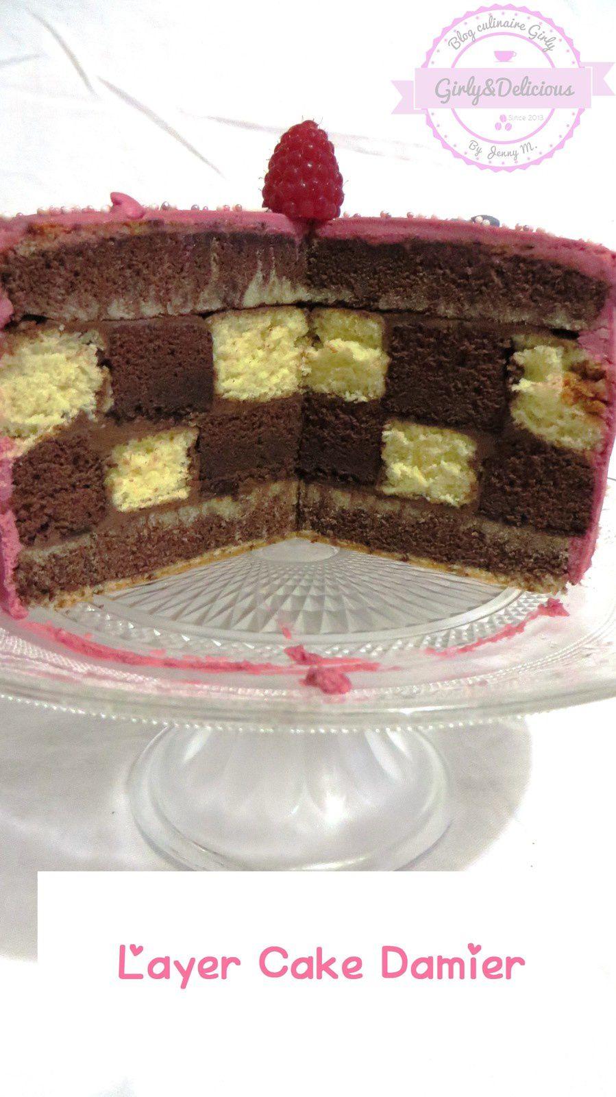 Layer cake Damier