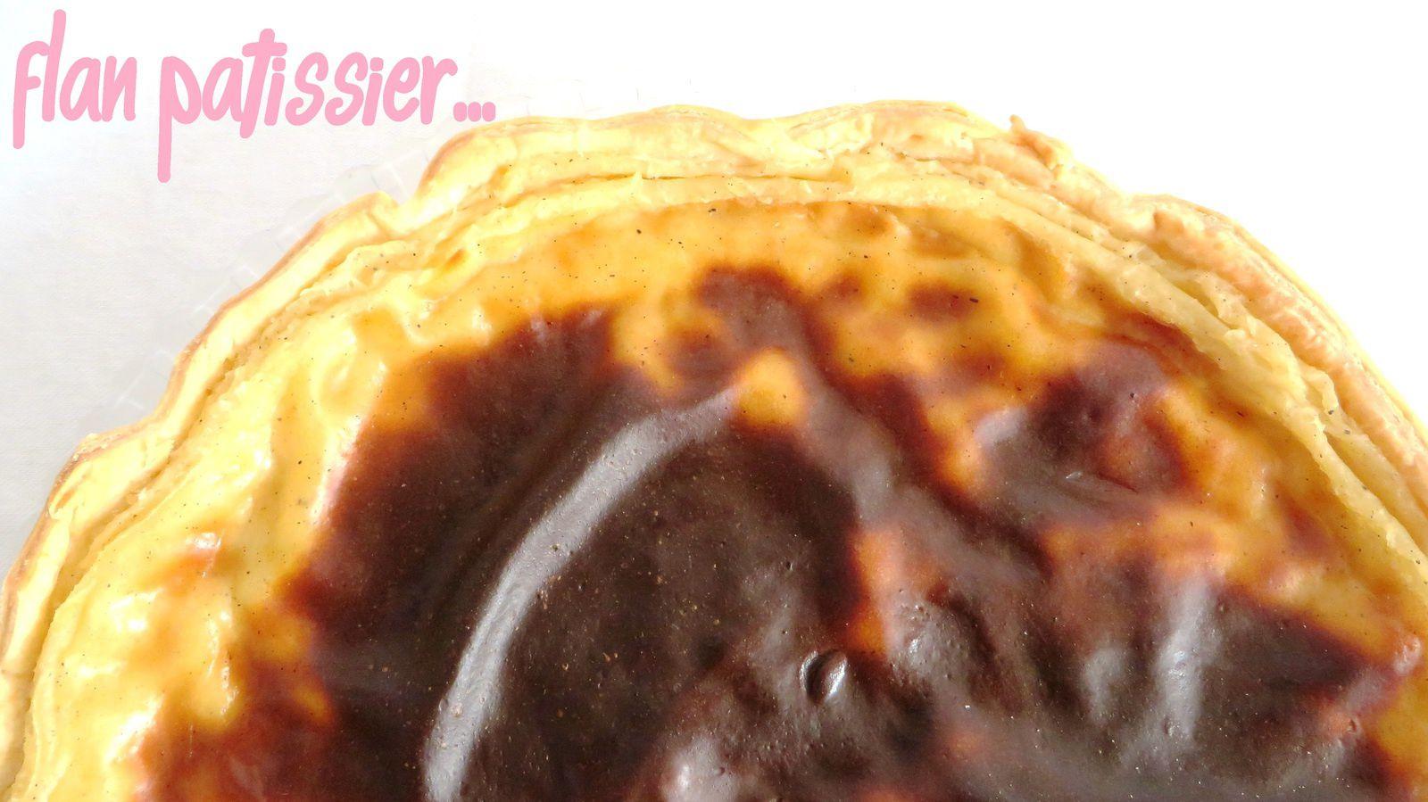 Flan pâtissier vraiment vanillé !!!