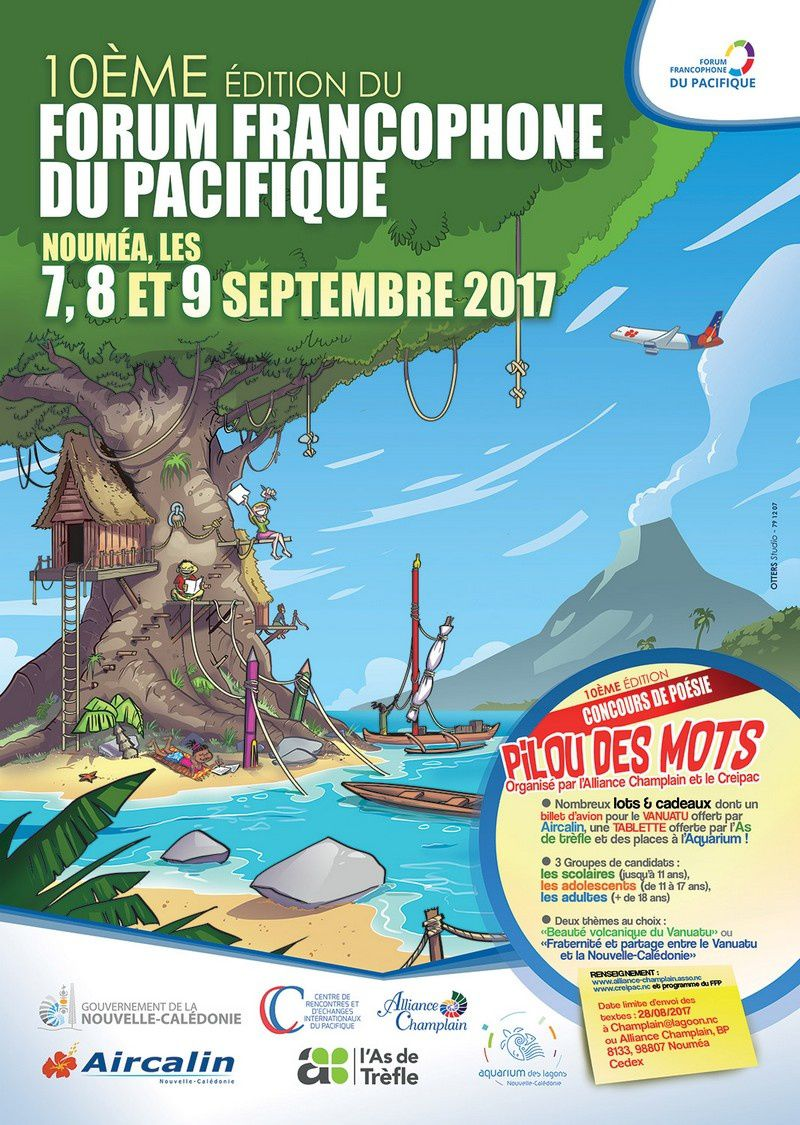 10è Forum francophone du Pacifique avec le Vanuatu comme pays invité