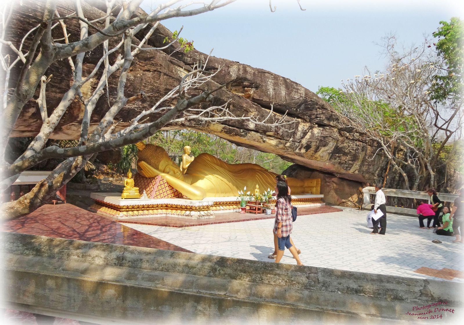 Les beaux endroits cachés d'Ubolratana (Thailande)