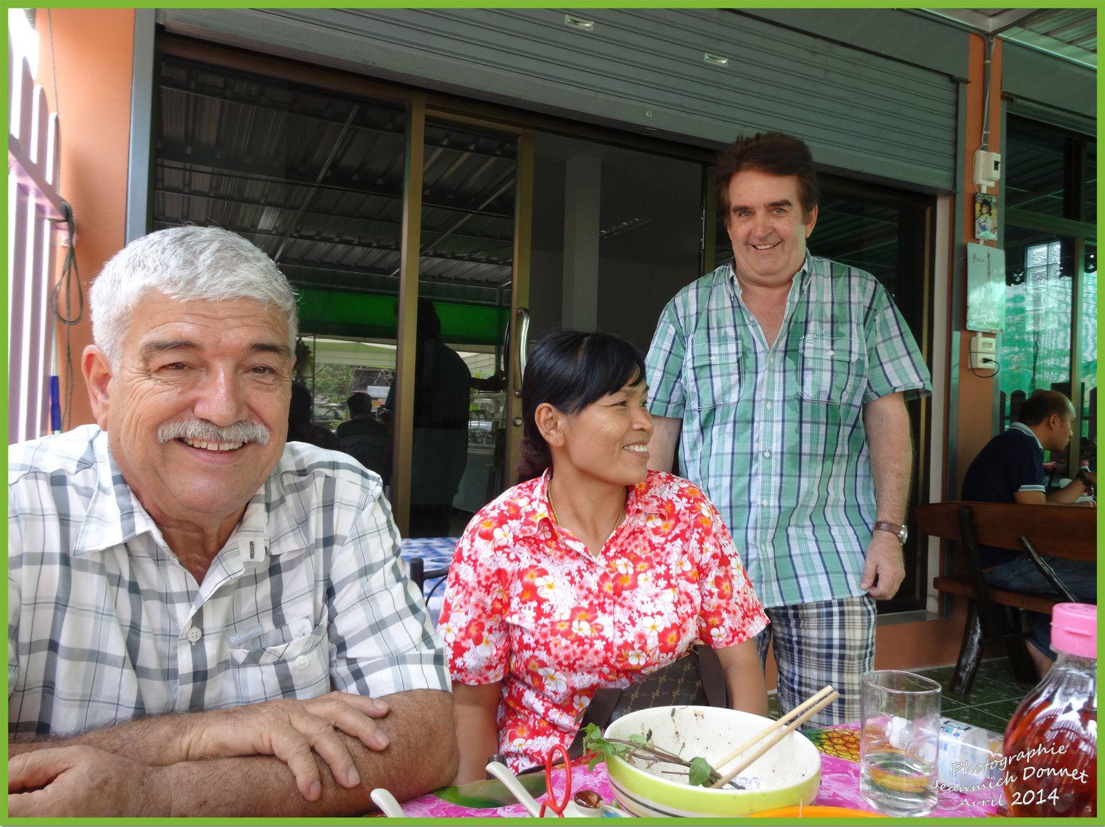Le restaurant d'un francais (Paul) en Thailande