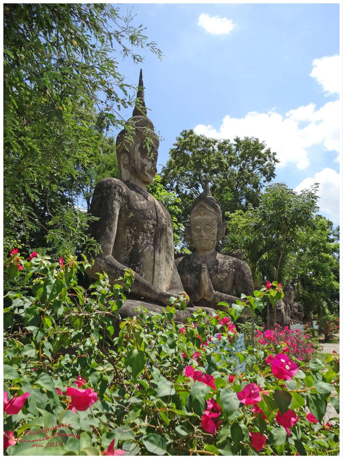 Visite de Nong Khai (Sala Khéo Ku) 1ère partie