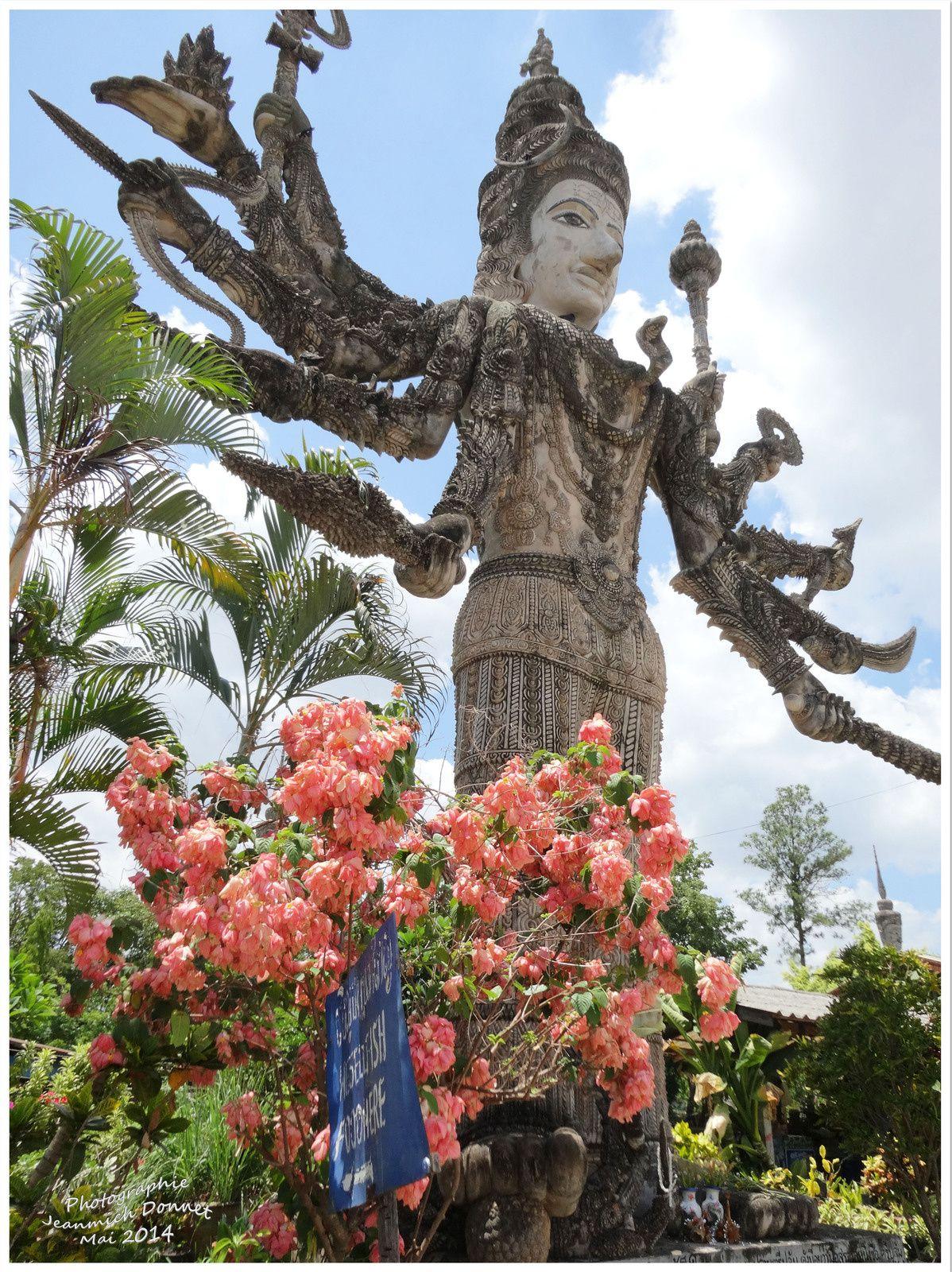 Visite de Nong Khai (Sala Khéo Ku) suite et fin