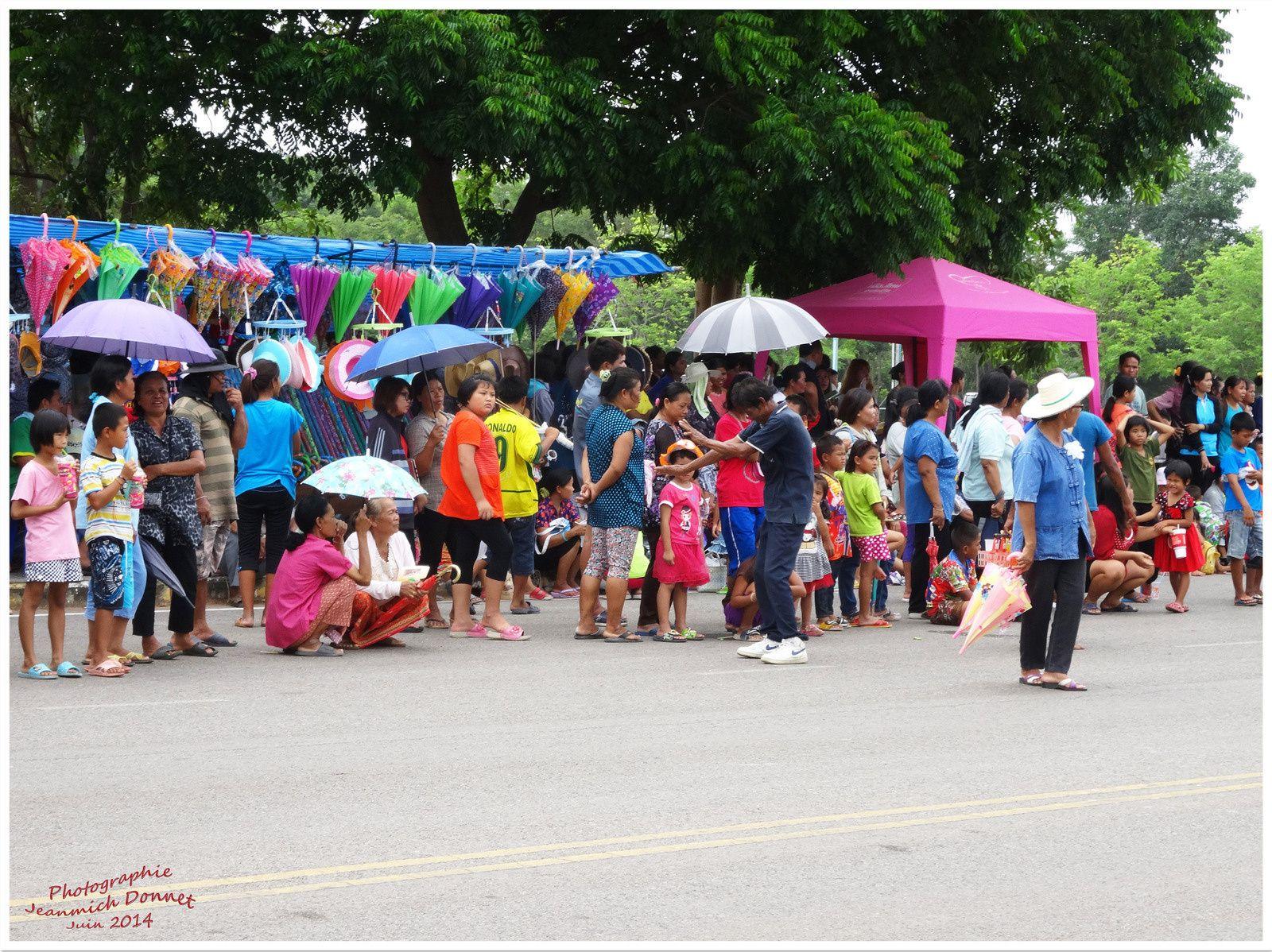 Fêtes de Thailande : Bang Fai (le festival des fusées) II
