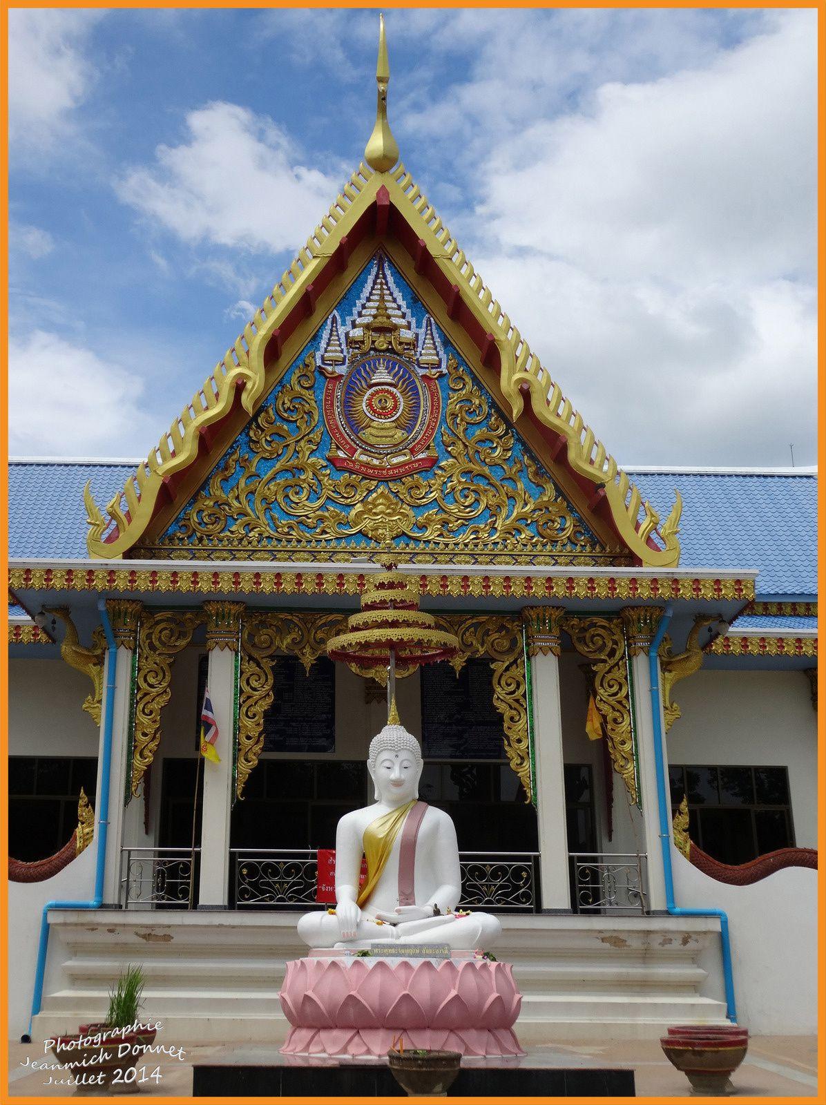 Fête bouddhiste en Thailande (Khao Phansa)
