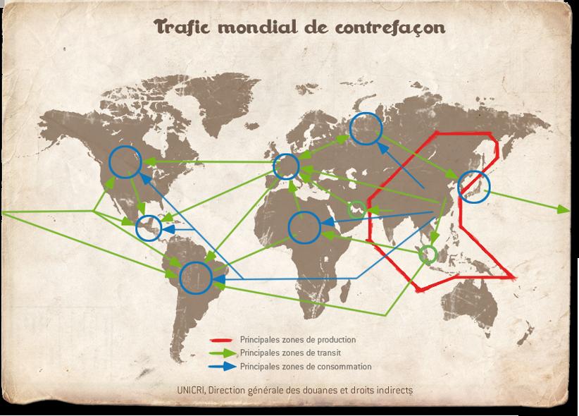 En Asie du Sud-Est dans l'un des royaume de la contrefaçon....
