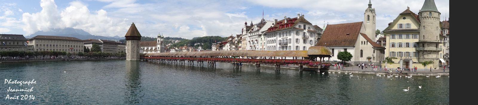 Lucerne, un haut lieu du tourisme en Suisse