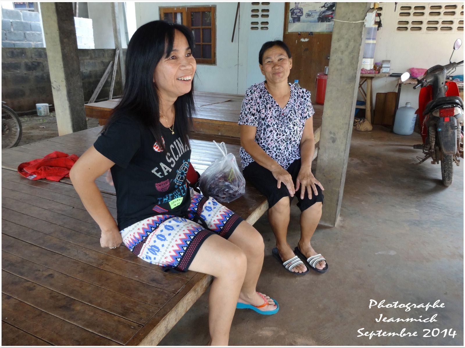 Dans un village d'Isan (province de Roi Et district de Phontong