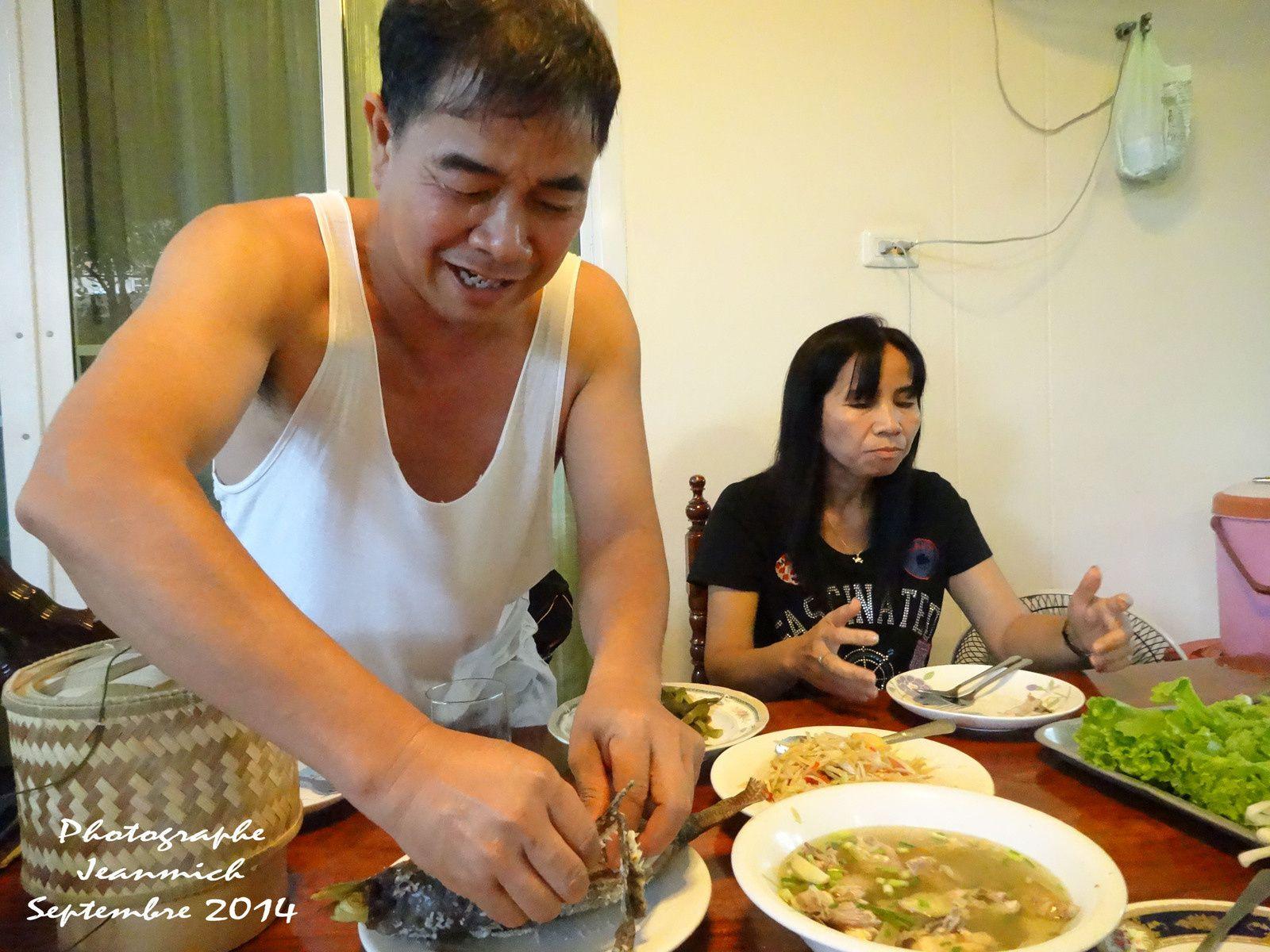 L'anniversaire de Prapas à Khon Kaen