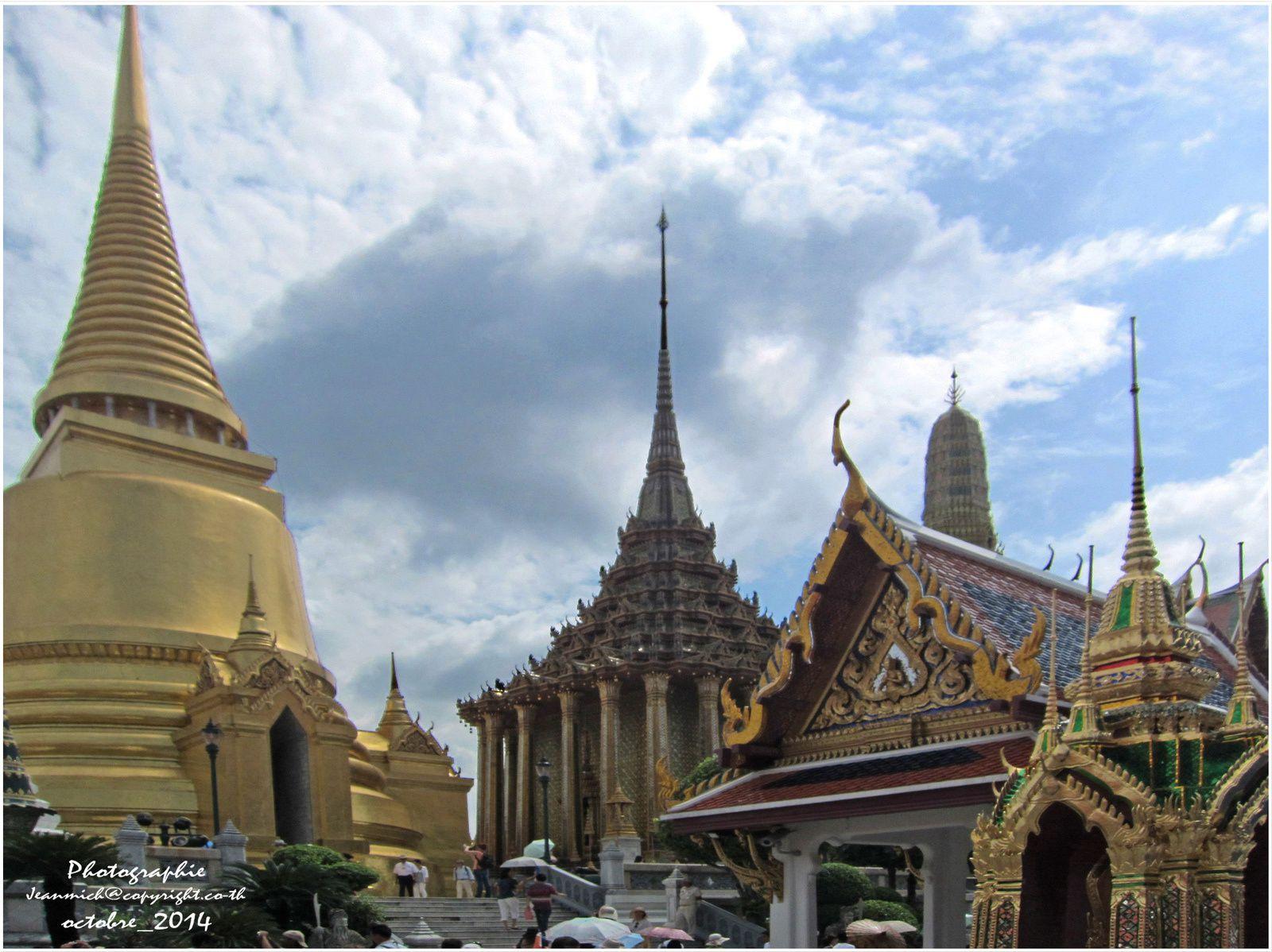 Wat Phra Kaeo à Bangkok, un temple à visiter, incontournable de BKK
