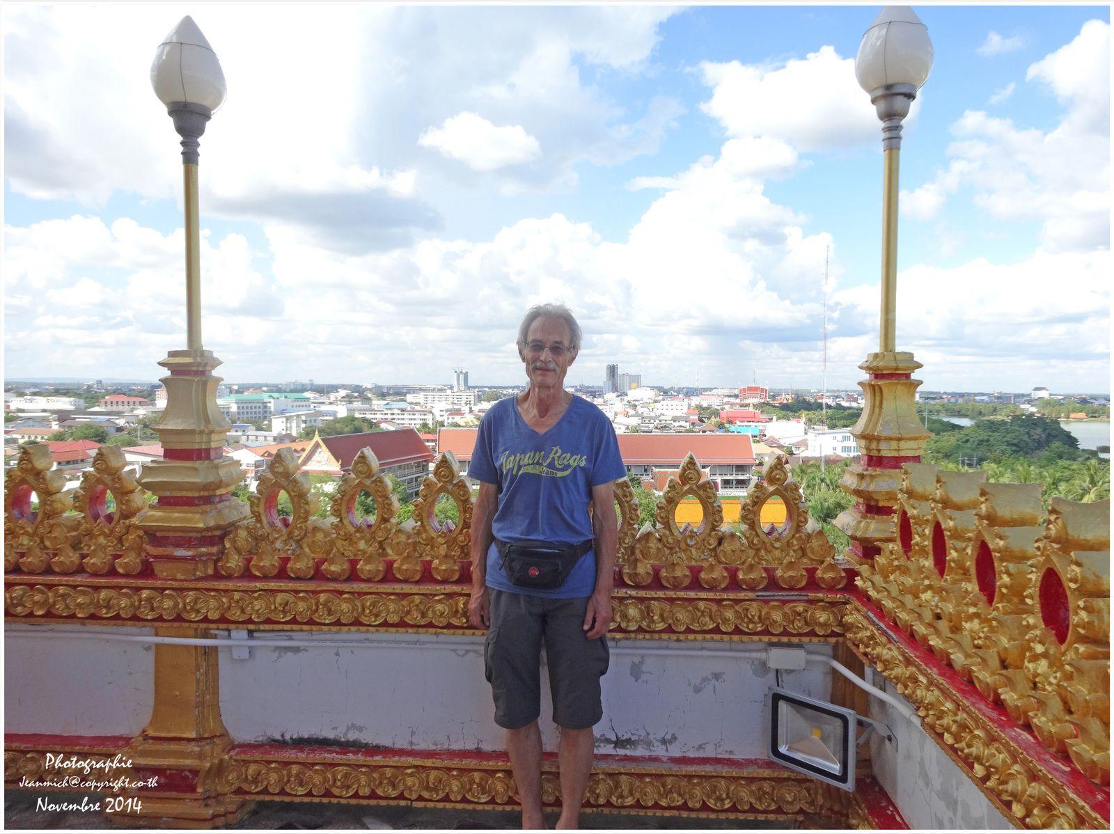 Visite d'amis à Khon Kaen