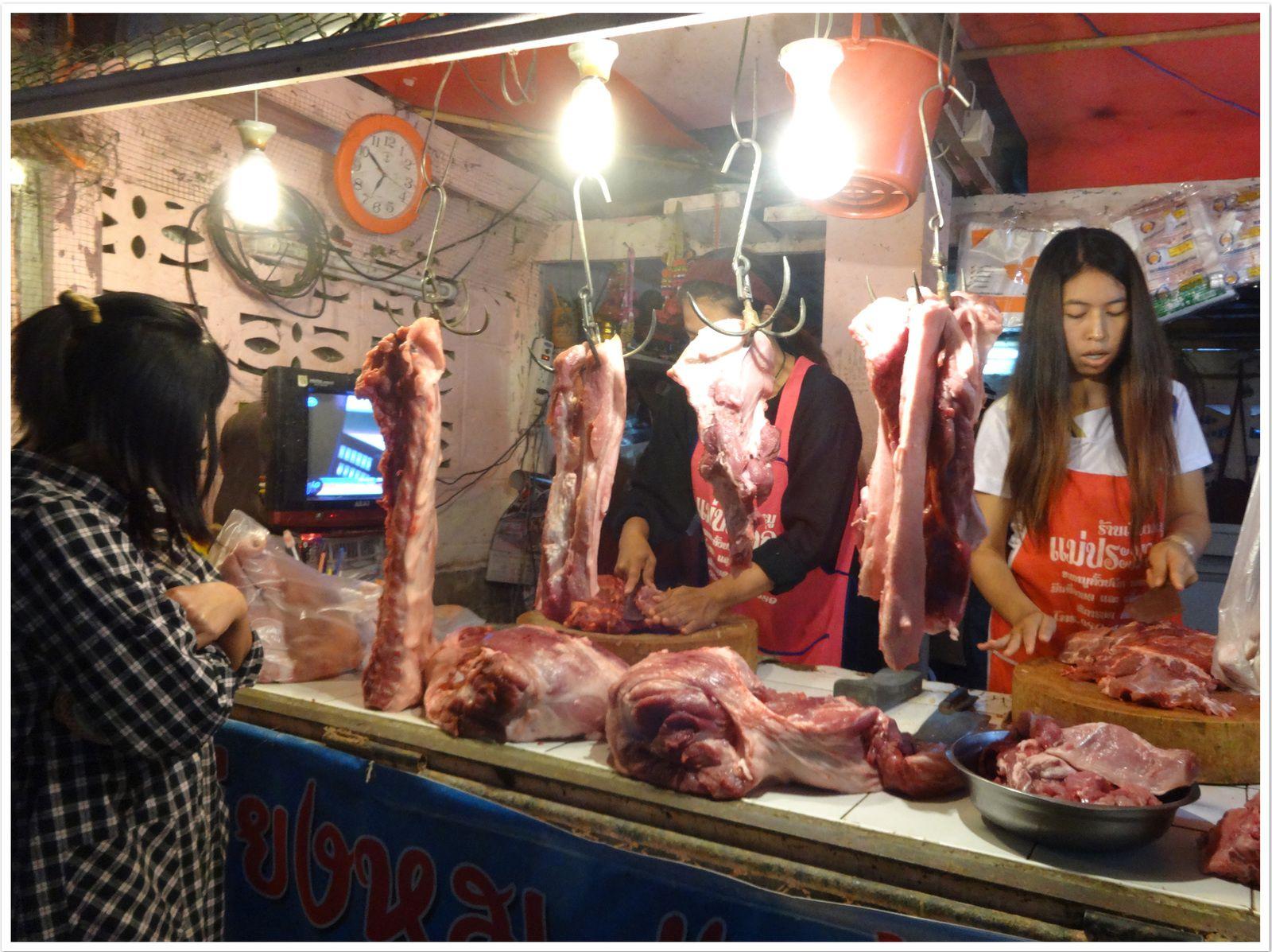Coût de la vie en Thaïlande, la viande.....,