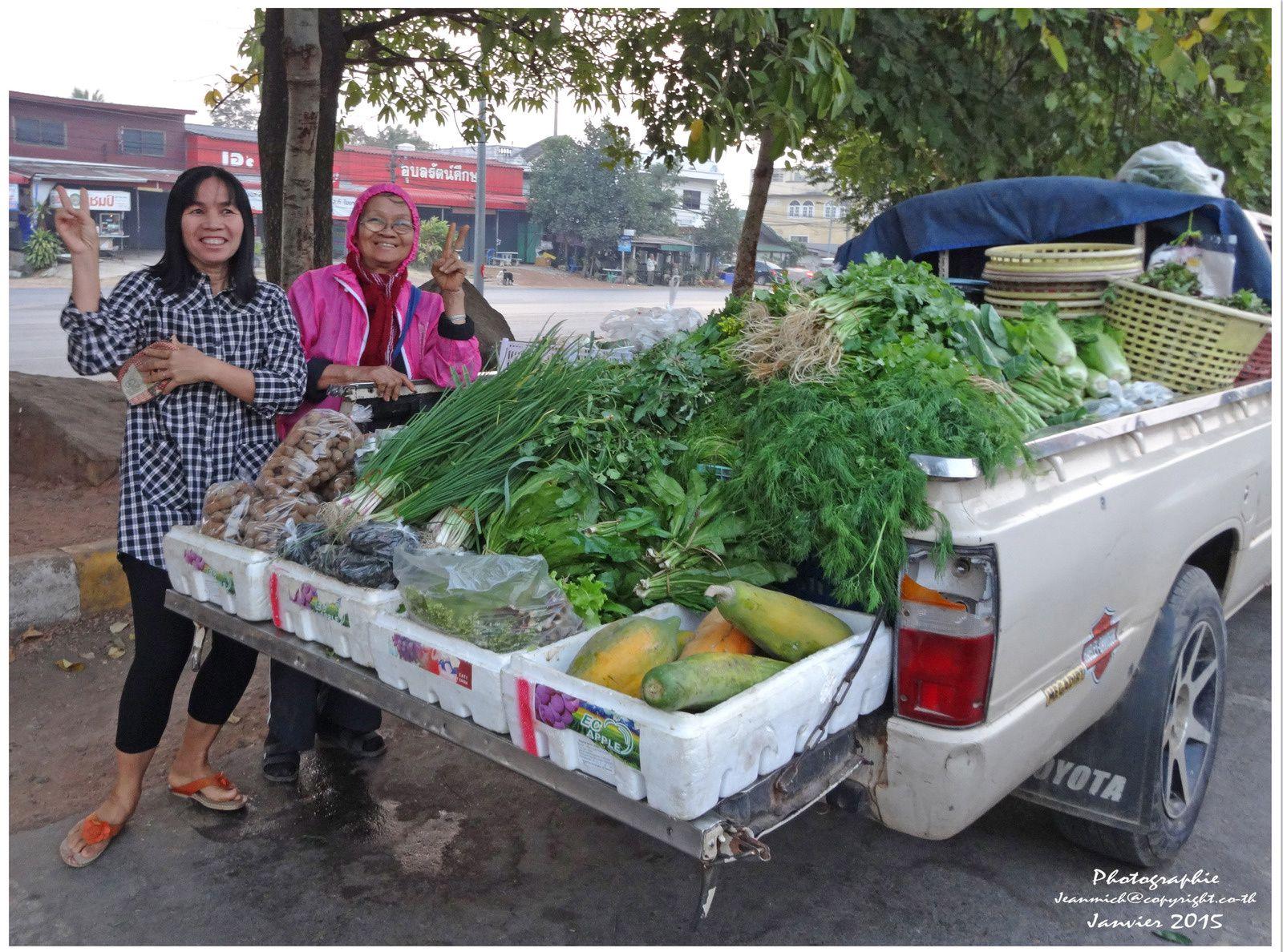 Coût de la vie en Thaïlande, les légumes.....,