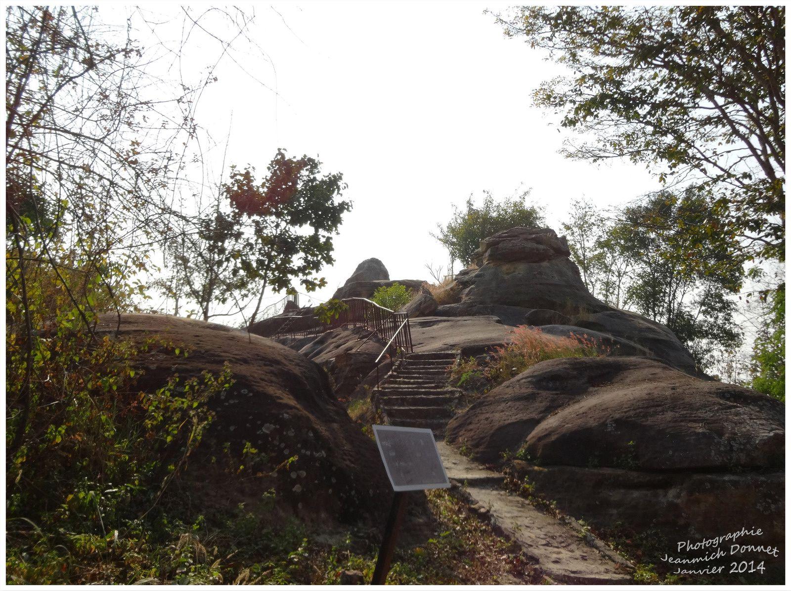 Dans la nature du parc National de Hin Chang See