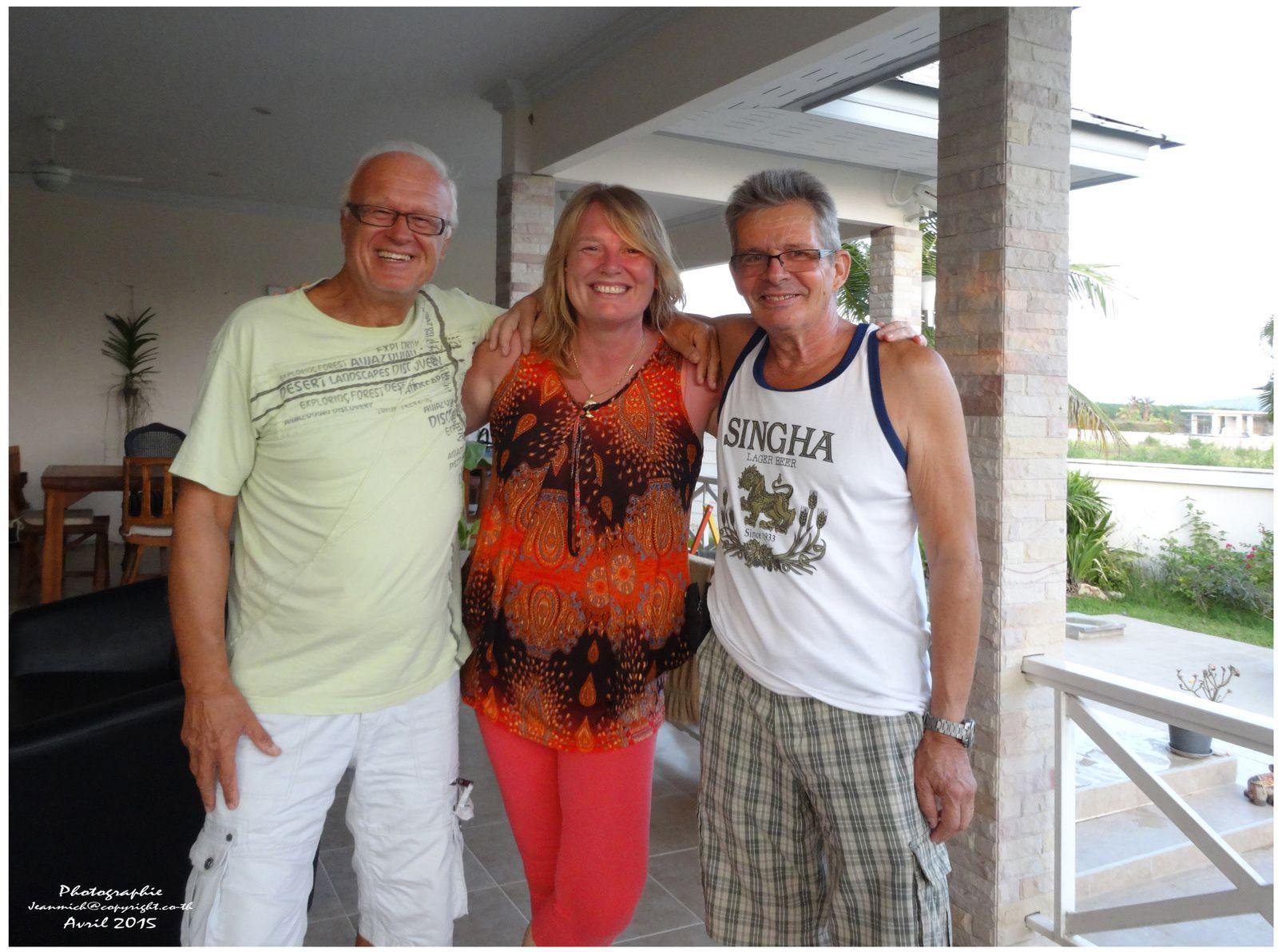 A Hua Hin, visite à nos amis Catherine et Jean-Pierre.