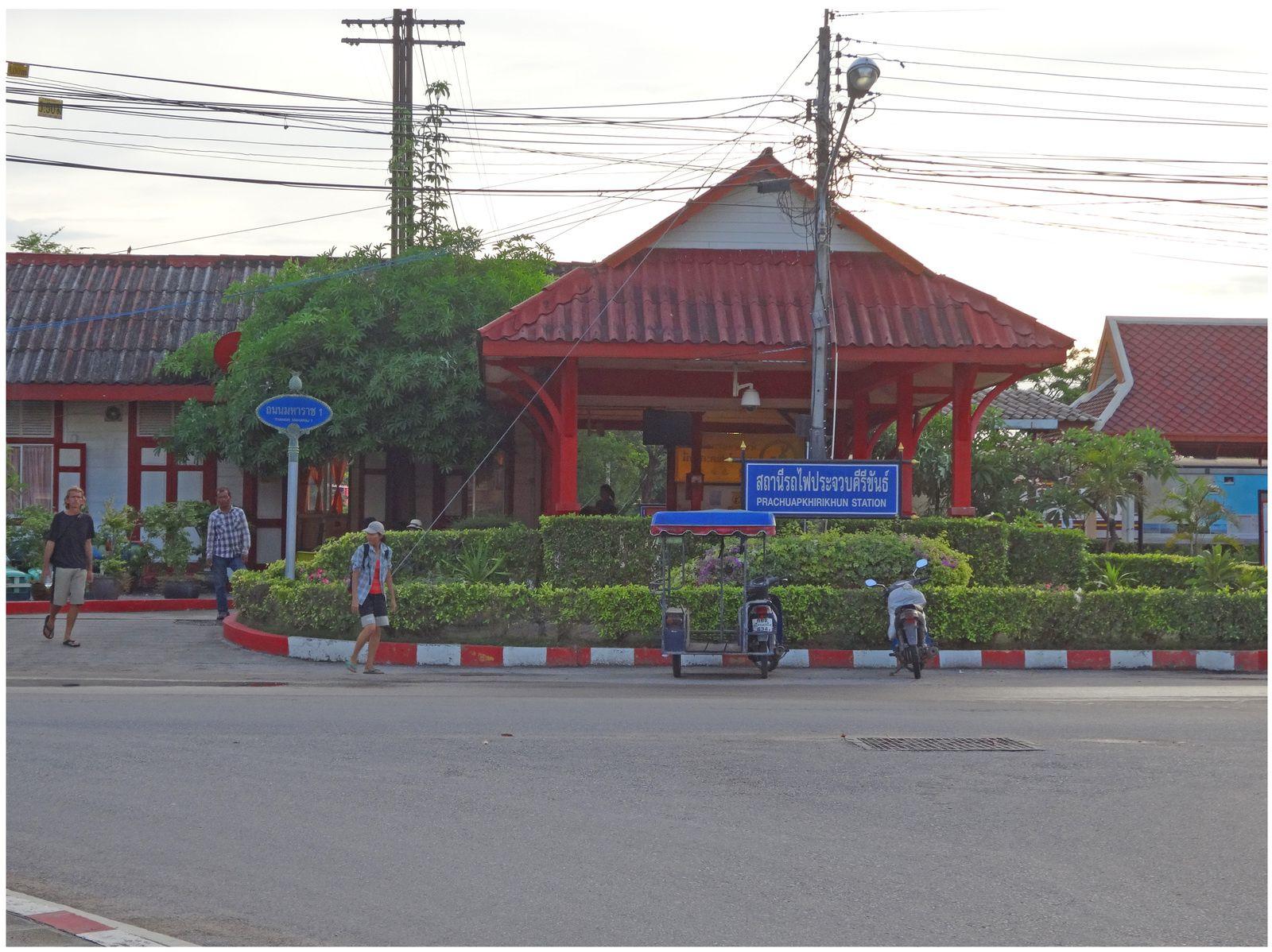 le marché de Prachuap Kiri Khan