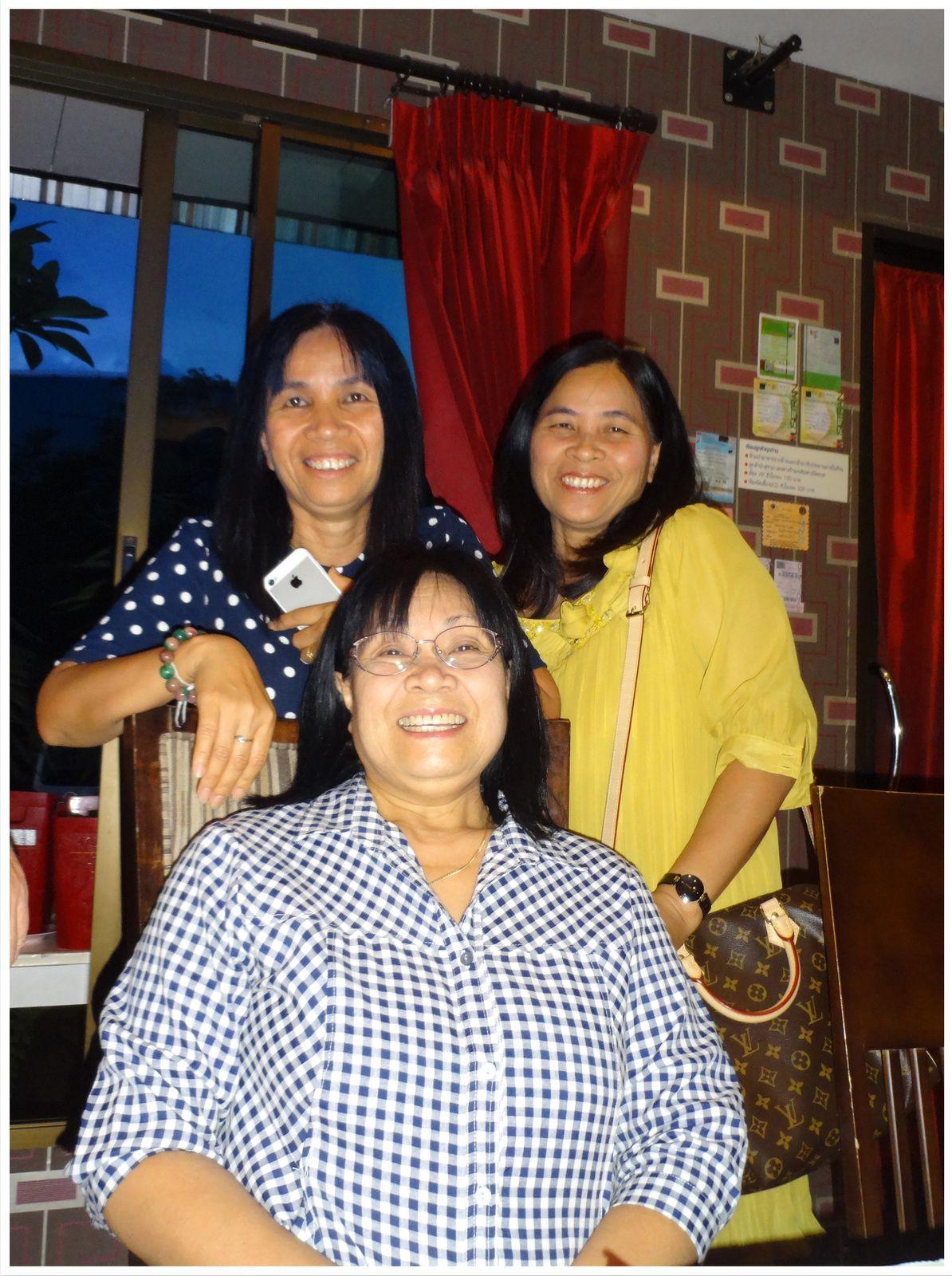 Yuphin, Malewan et Siriphan