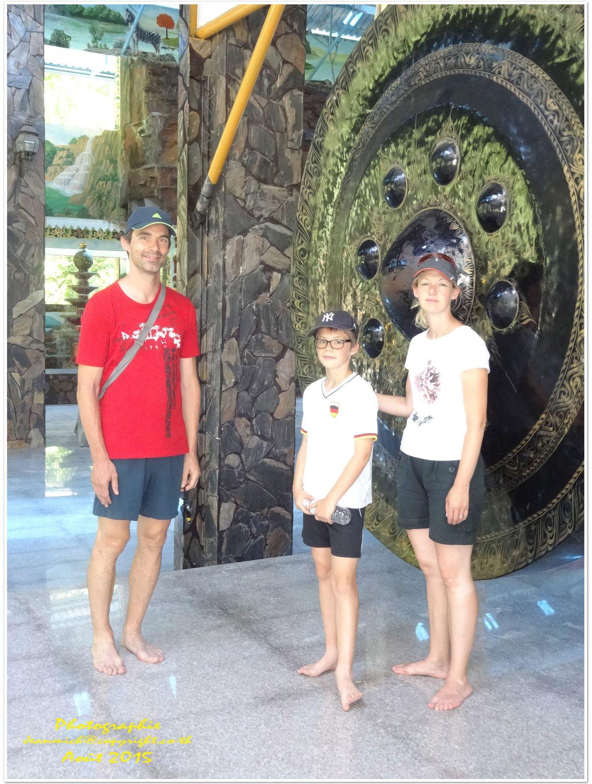 Visite d'un temple, Wat Pa Thamma Utthaya (Khon Kaen)