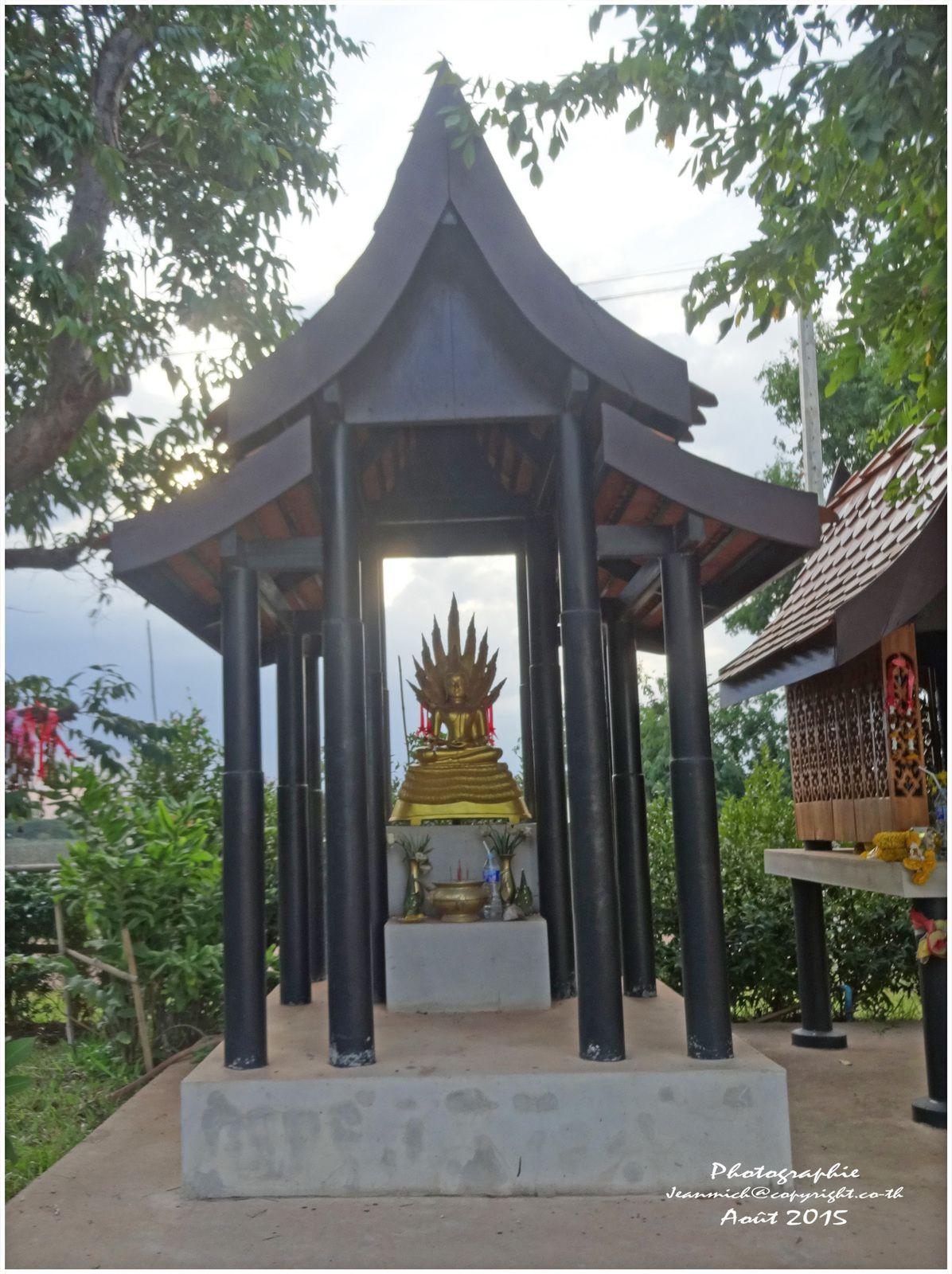 Nong Khai, ville frontière au bord du Mékong.