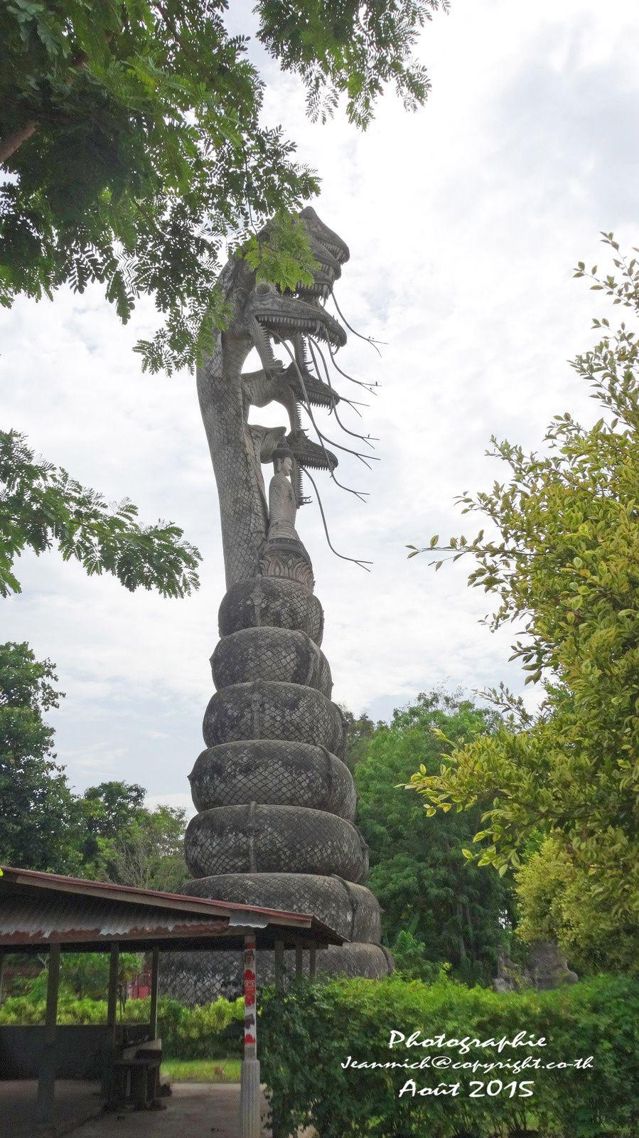 """Le merveilleux jardin de """"Sala Khéo Kou"""" (Nong Khai)"""
