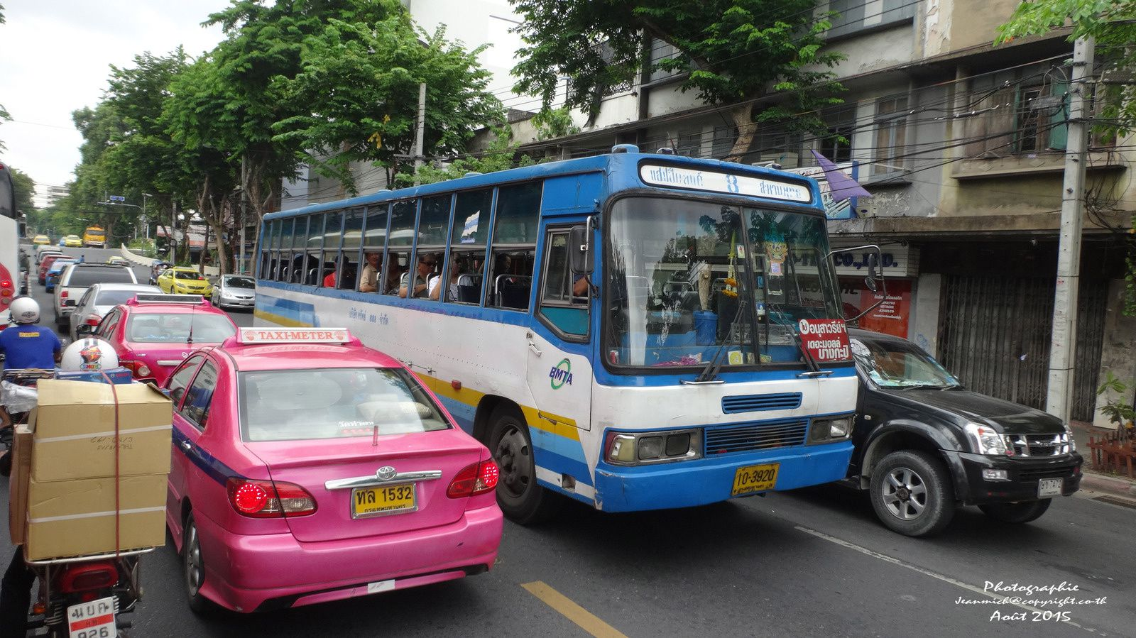 Les transports dans Bangkok.....