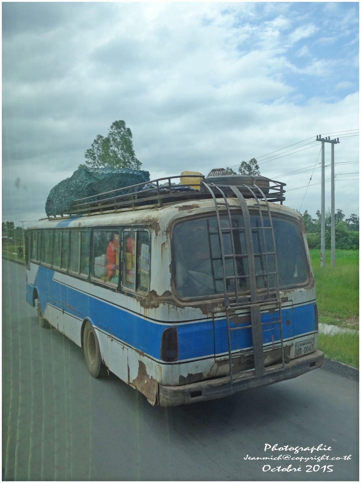 Vacances au Vietnam (trajet de Khon Kaen à la frontière vietnamienne)