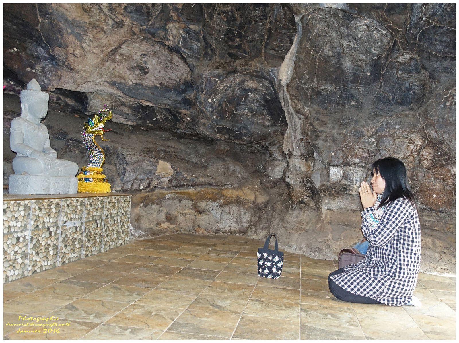 Un des temples d'Ubonrat :Wat Khuan Ubolratana Tha Lua