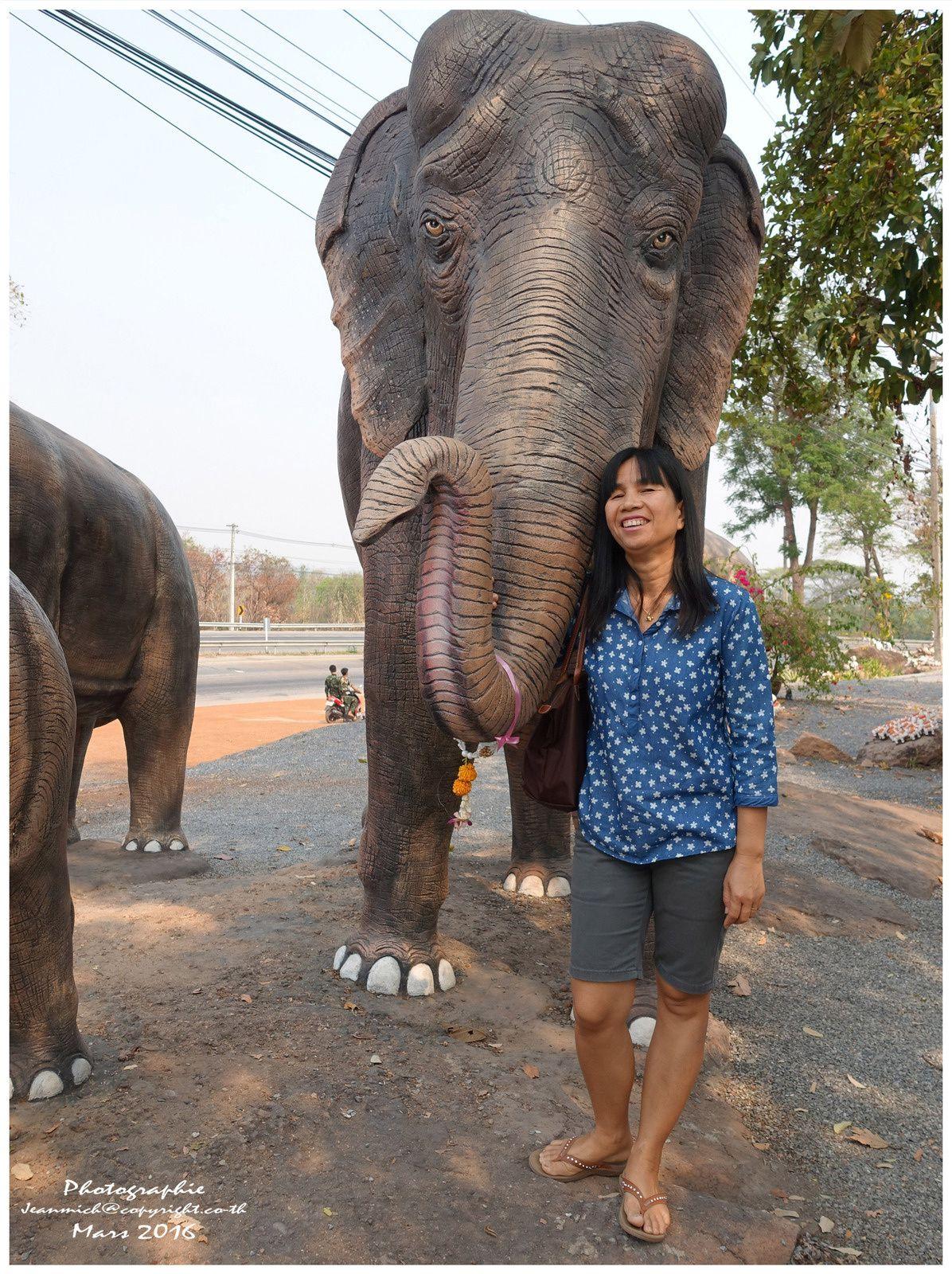 Petite visite au Wat Khuan Ubolratana Tha Lua et suite du séjour....