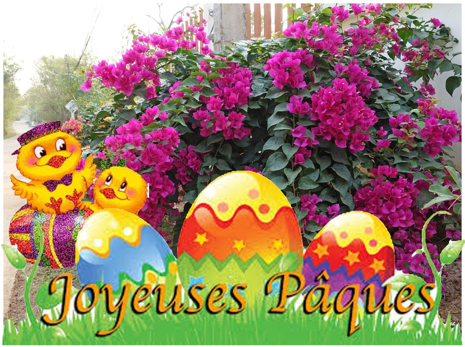 Belles fêtes de Pâques