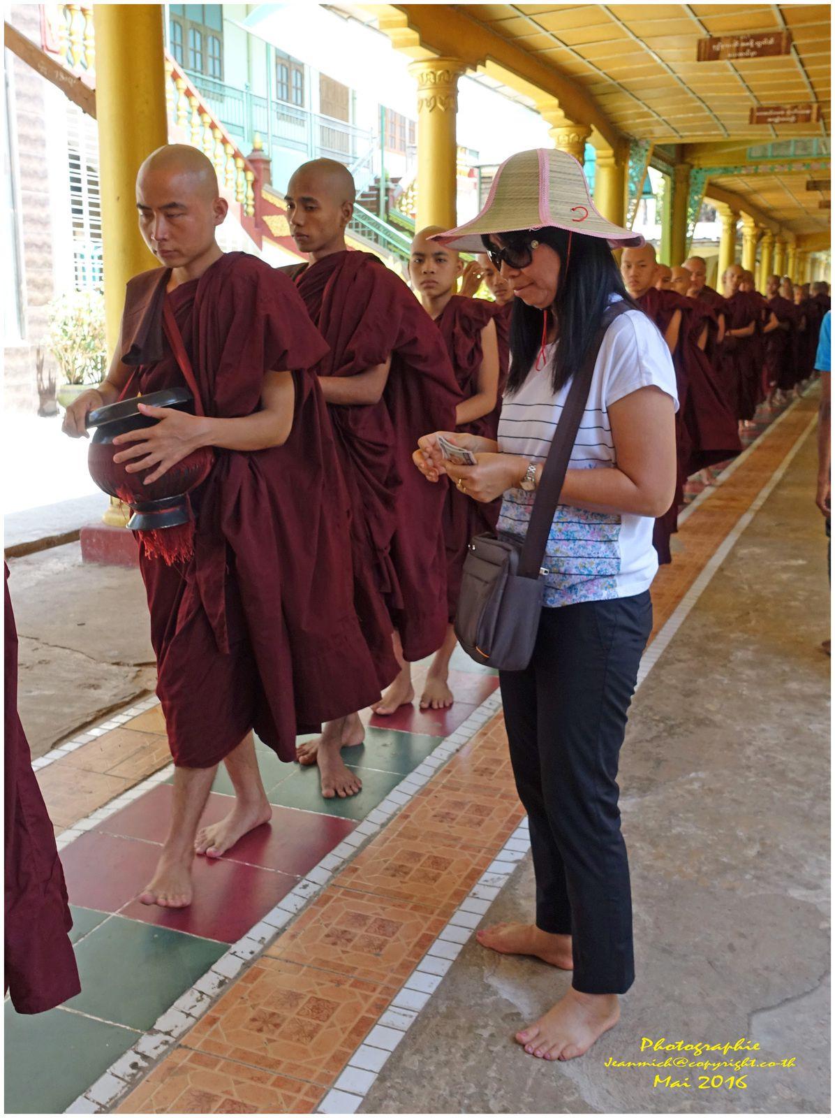 Ecole Bouddhiste de Bago (Birmanie)
