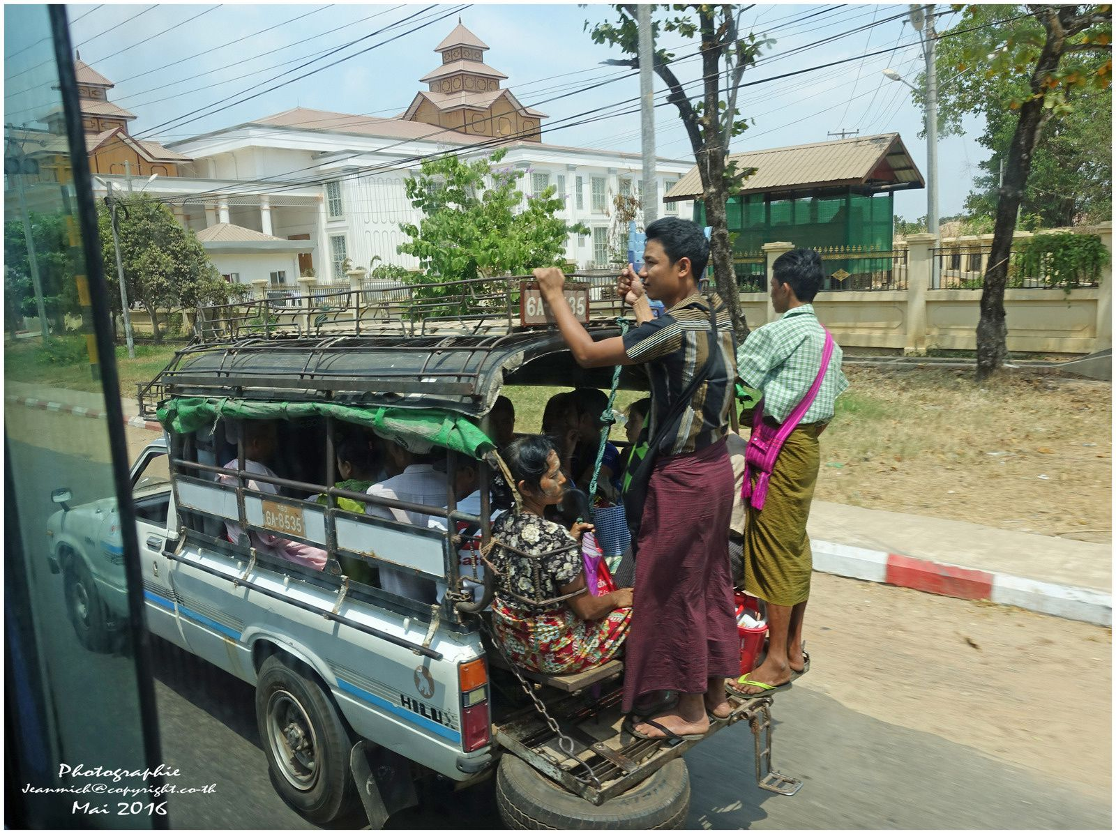 Circulation au Myanmar..... (Birmanie)