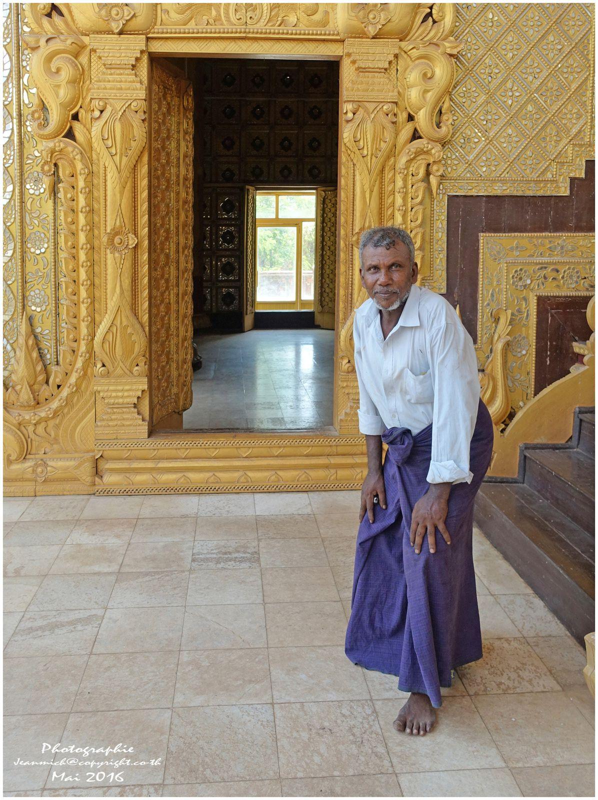 Palais impérial de Bago (province Birmane)