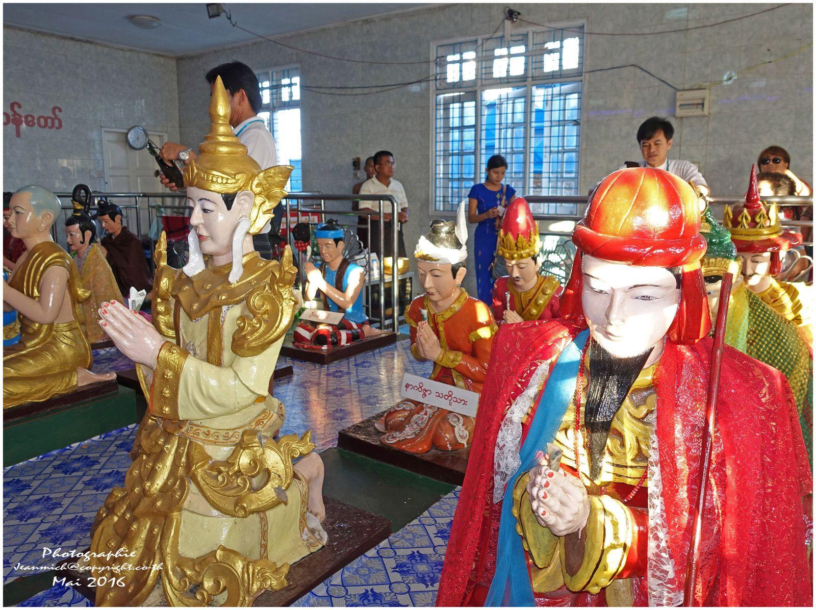 Le rocher d'or Myanmar 1ère partie (Birmanie)
