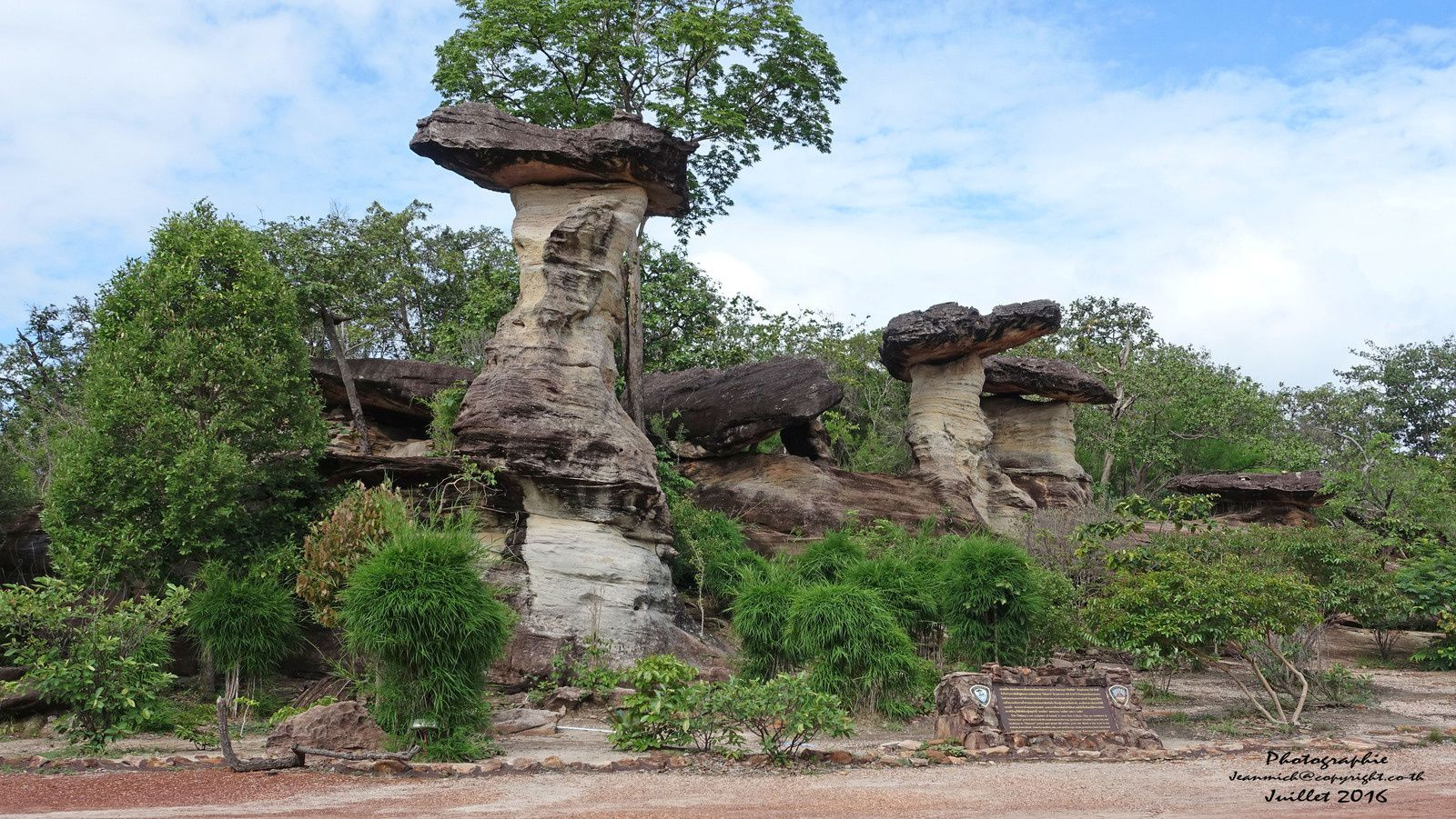 Parc national de Pha Taem (Sao Chaliang)