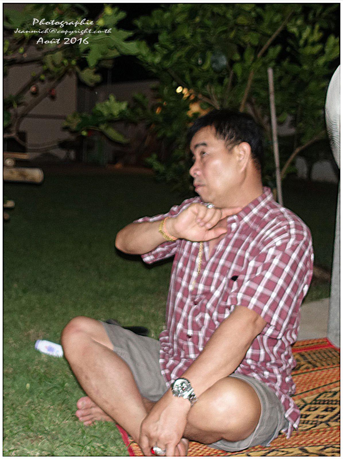 Mémorable dernière soirée à Ubonrat (Thaïland)