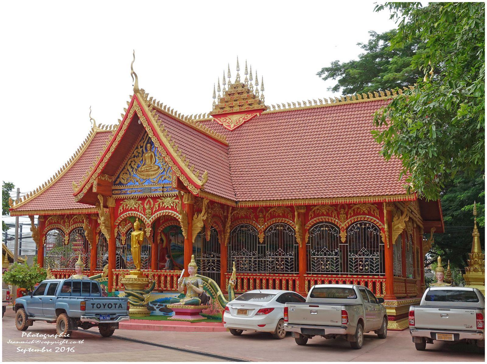 Le temple Inpeng dans le centre de Vientiane.