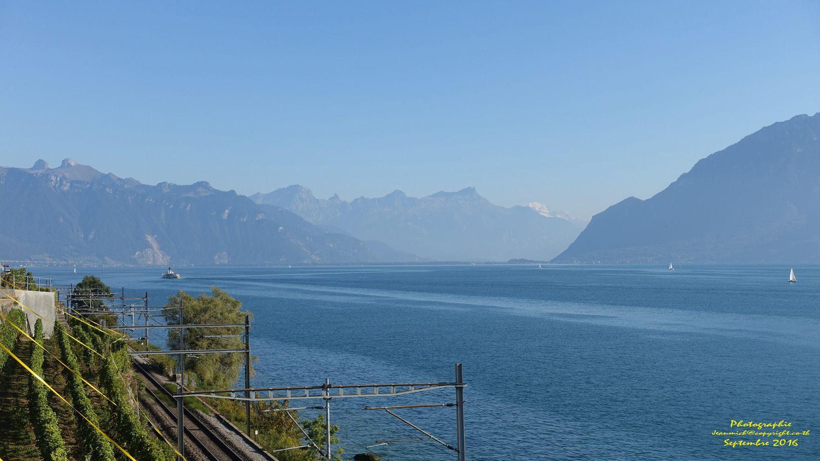 Petit arrêt dans le Lavaux (Vaud Suisse)