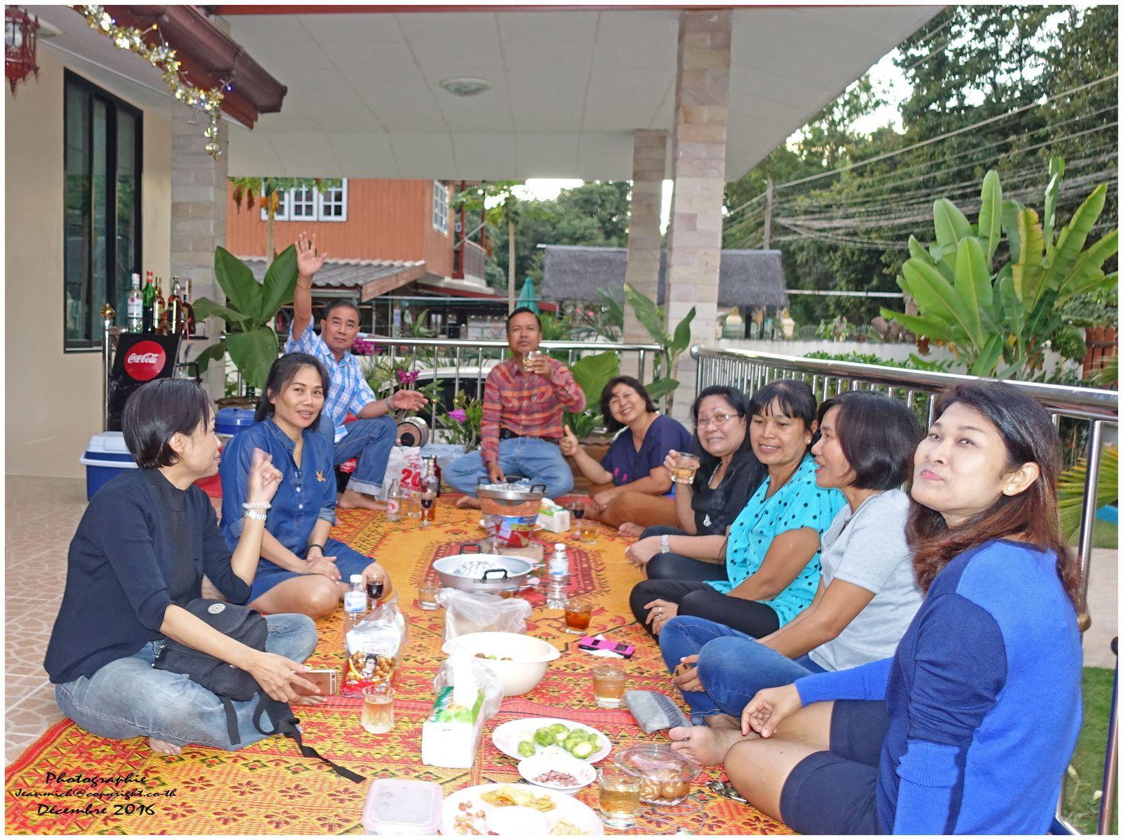 Un réveillon sous les tropiques (Ubonrat Thaïlande)