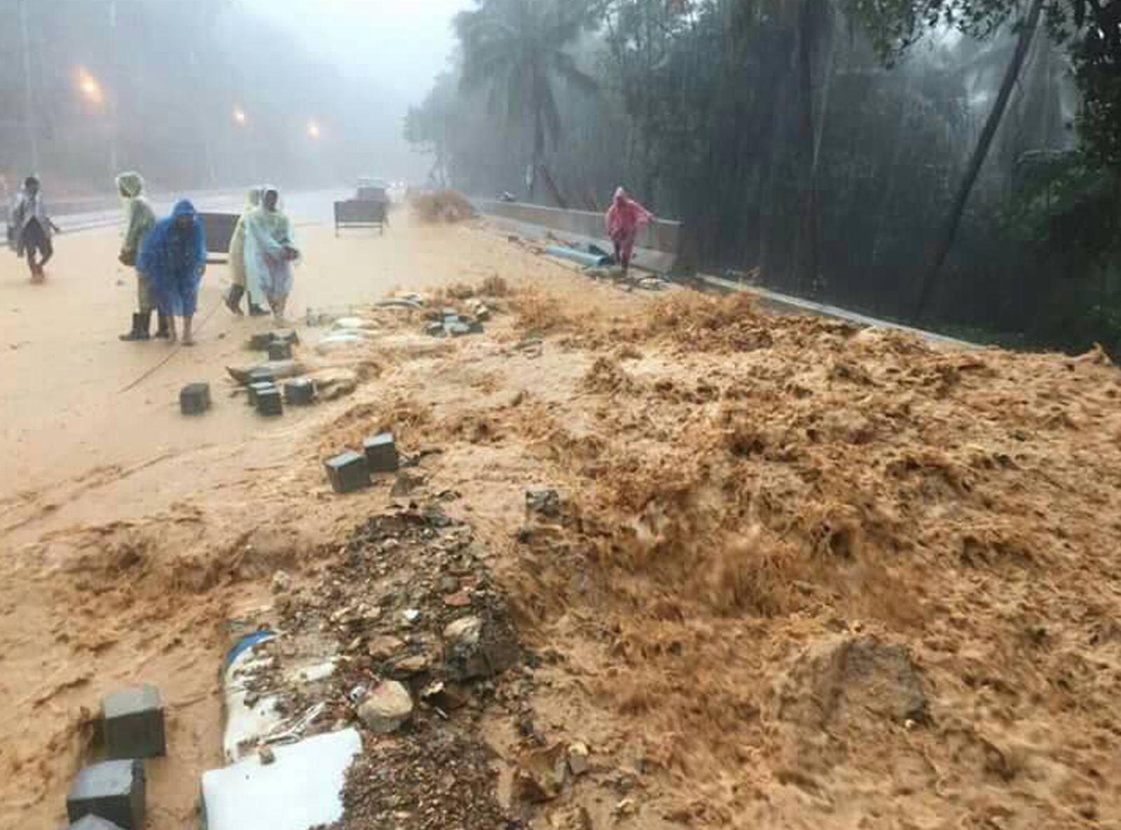 Inondations catastrophiques au Sud de la Thaïlande