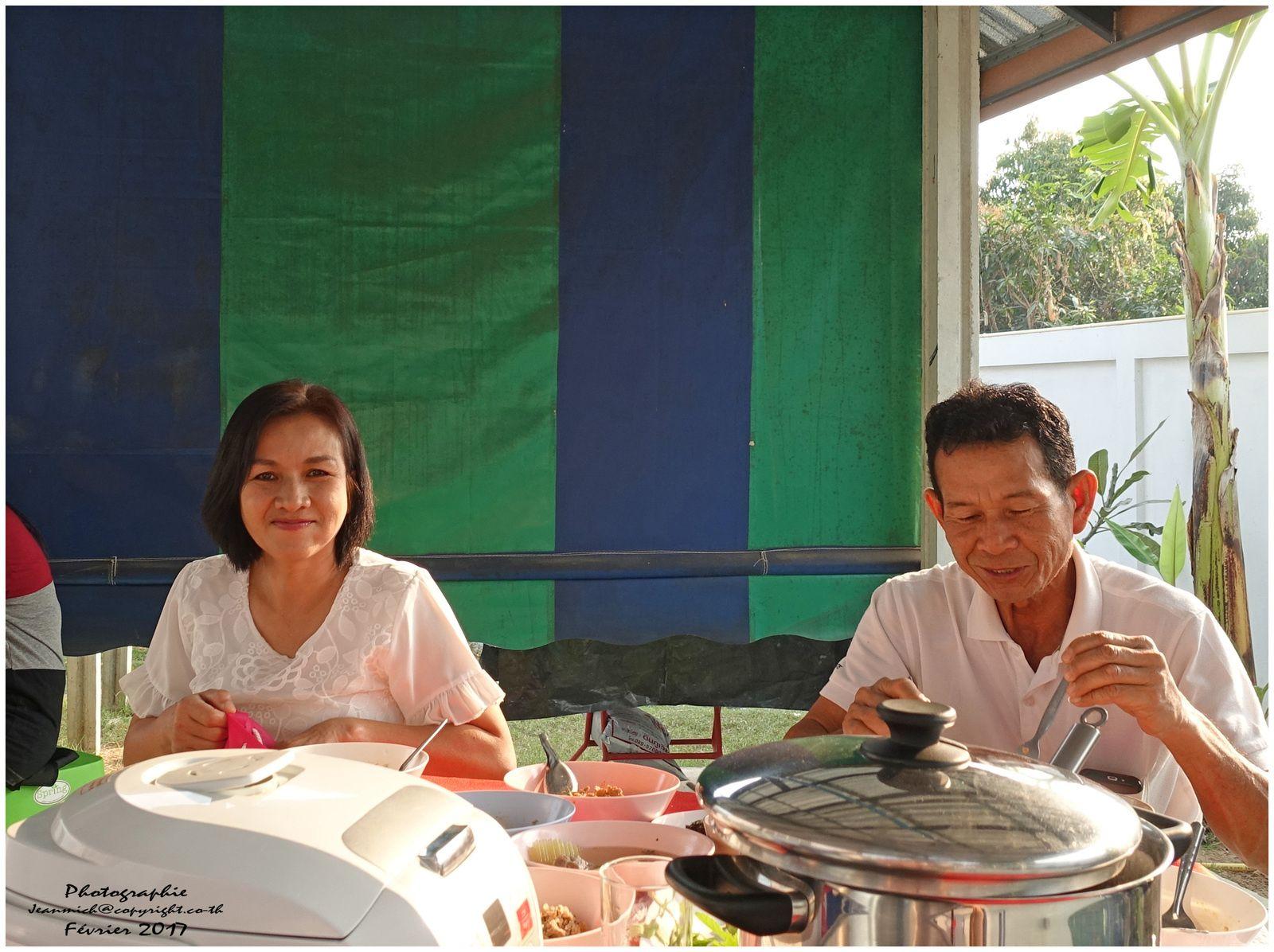 Bénédiction de la maison de nos amis (Thaïlande) dernière partie