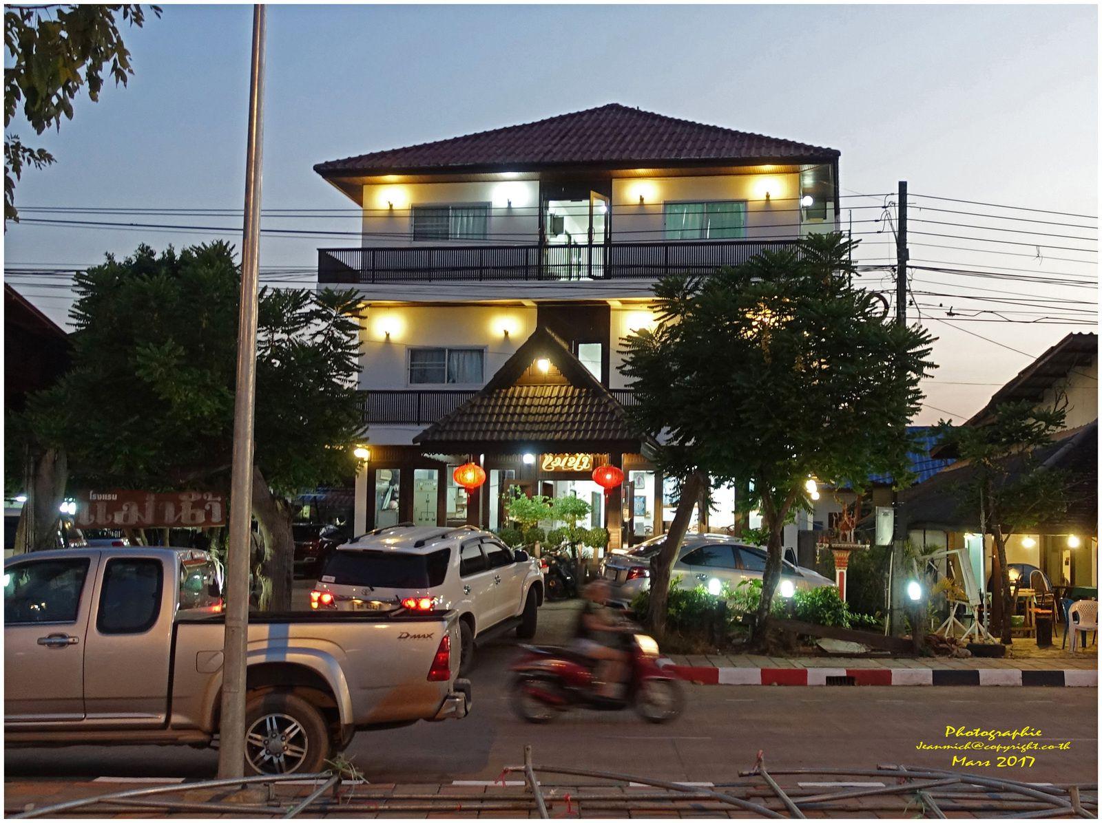 Bueng Kan, petite ville tranquille et agréable