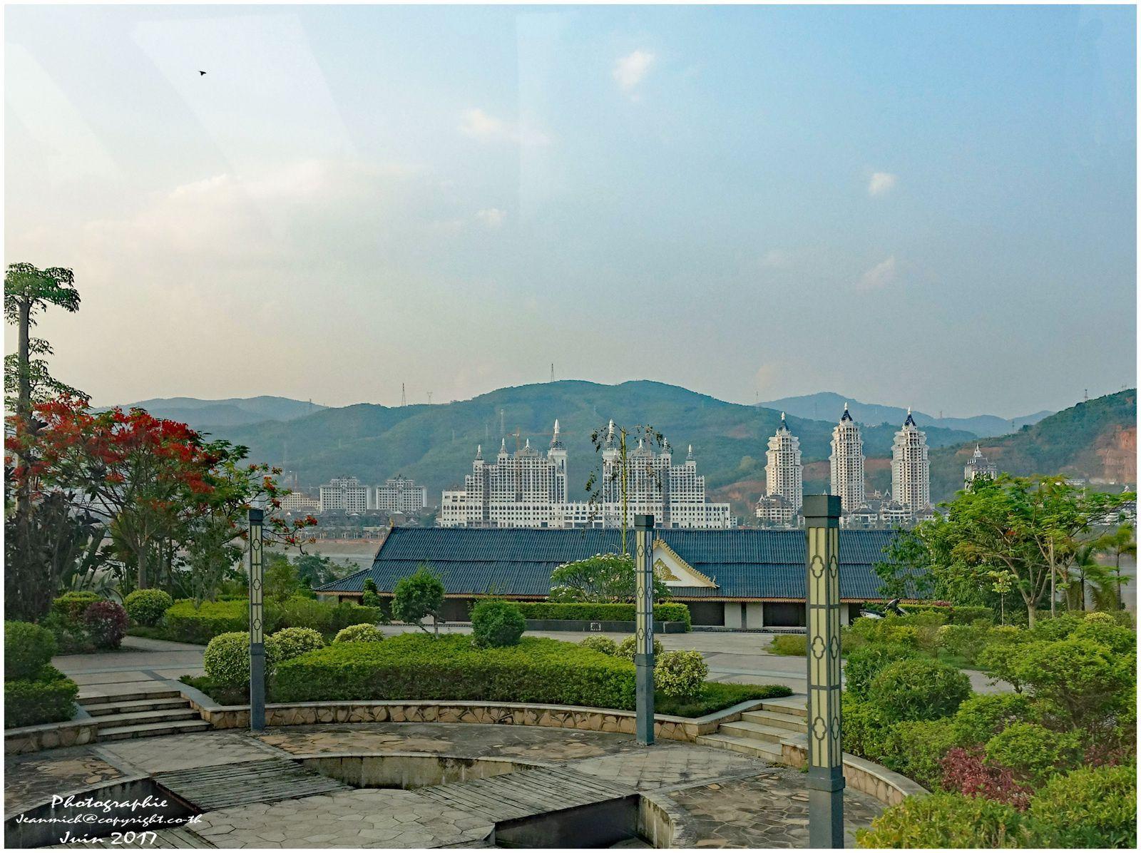 Ville de Xiyhuangbanna Province de Yunnan (Chine)
