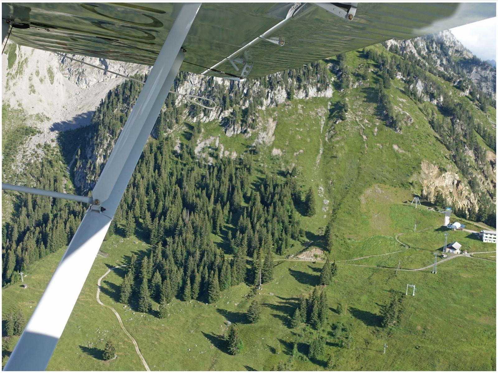 Vol au-dessus du Chablais (suite)