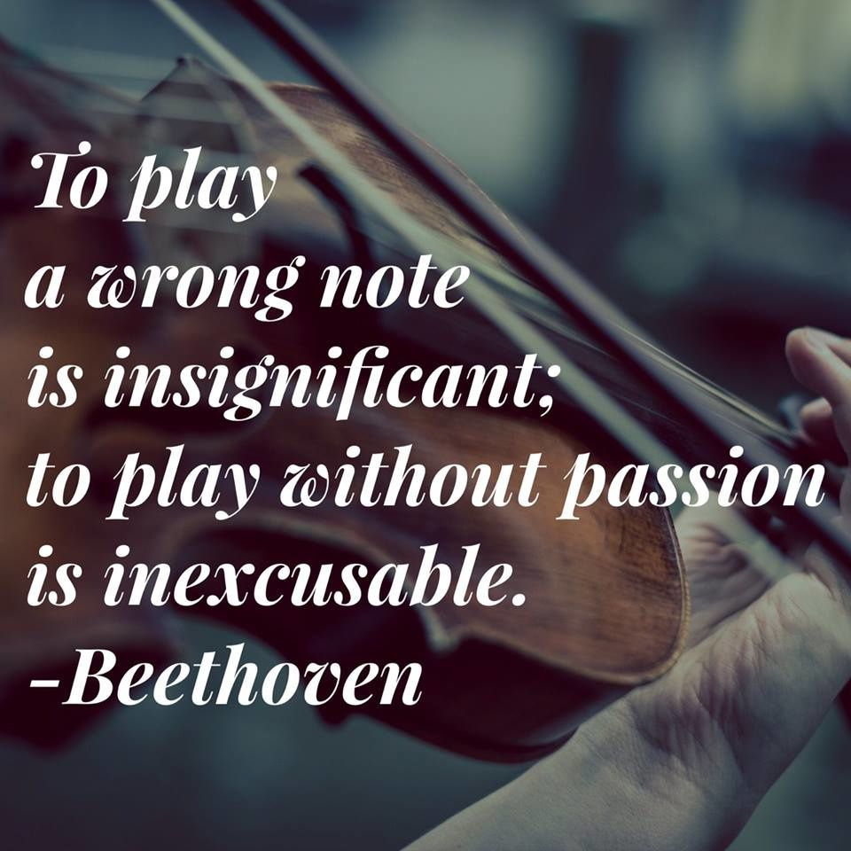Pensée de Beethoven