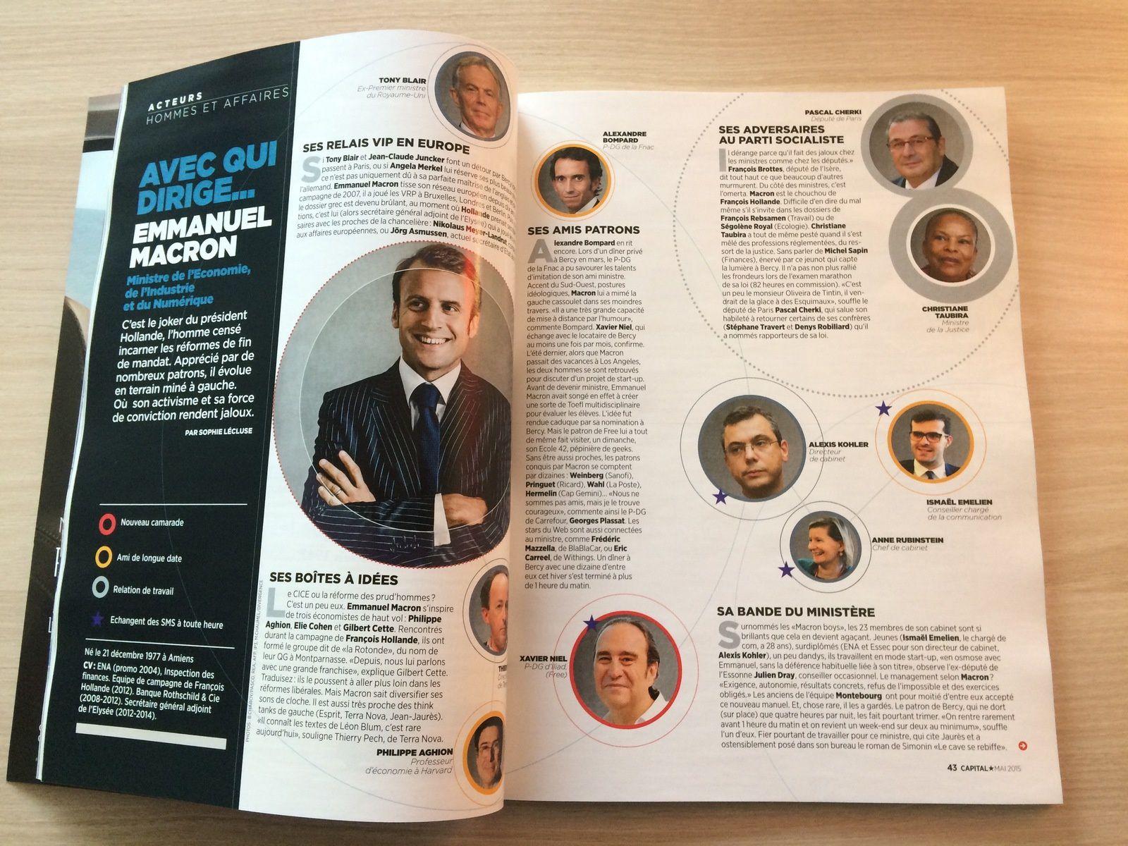 le magazine Capital en avant première!