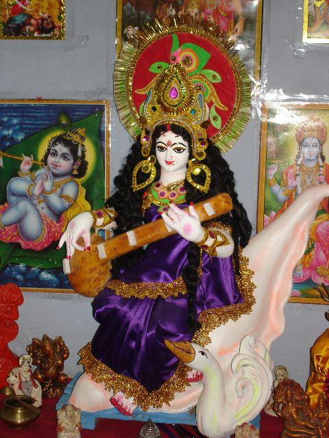 Notre Sarasvati faite par Vivek.