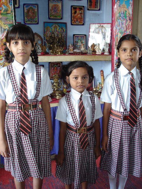 Shalini, Vandana et Sandya.